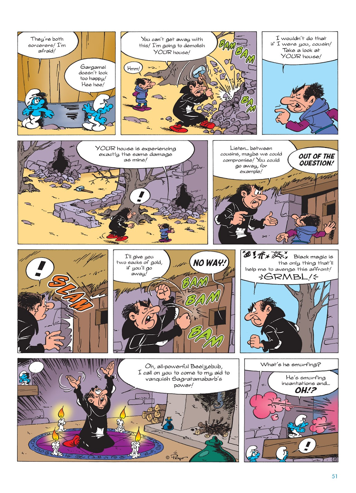 Read online The Smurfs comic -  Issue #9 - 51