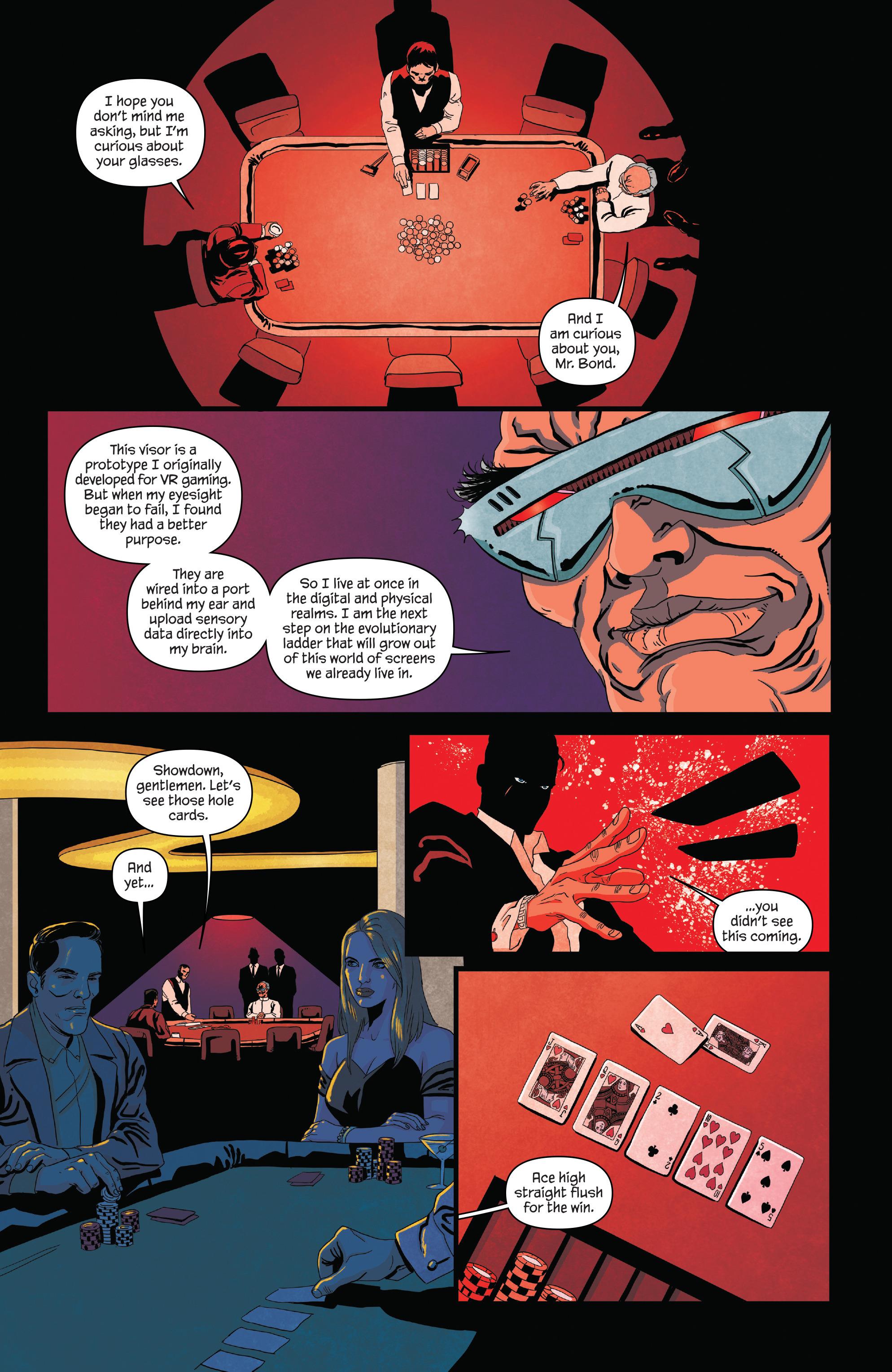 Read online James Bond (2017) comic -  Issue #2 - 10