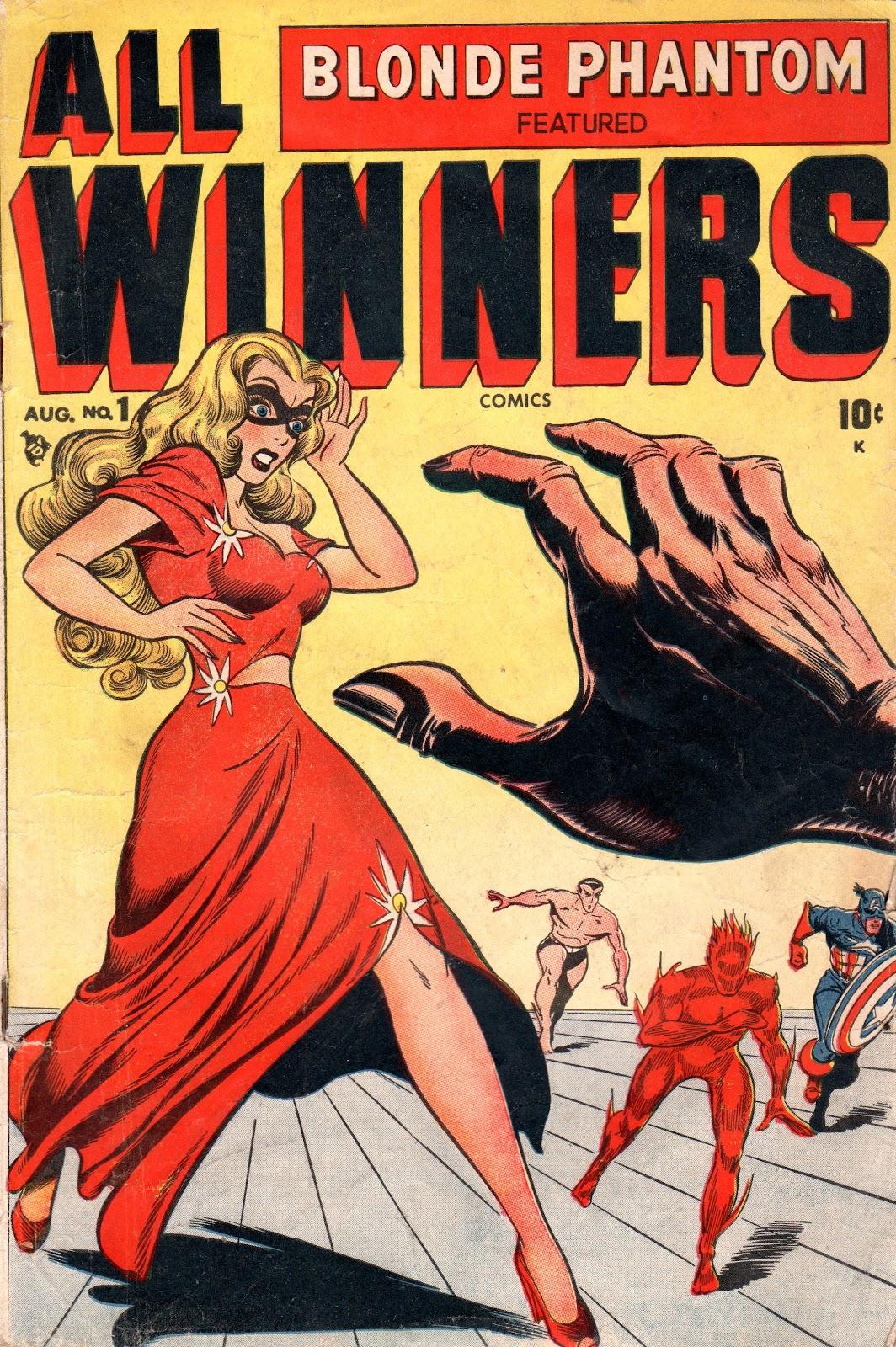 All-Winners Comics (1948) Full Page 1