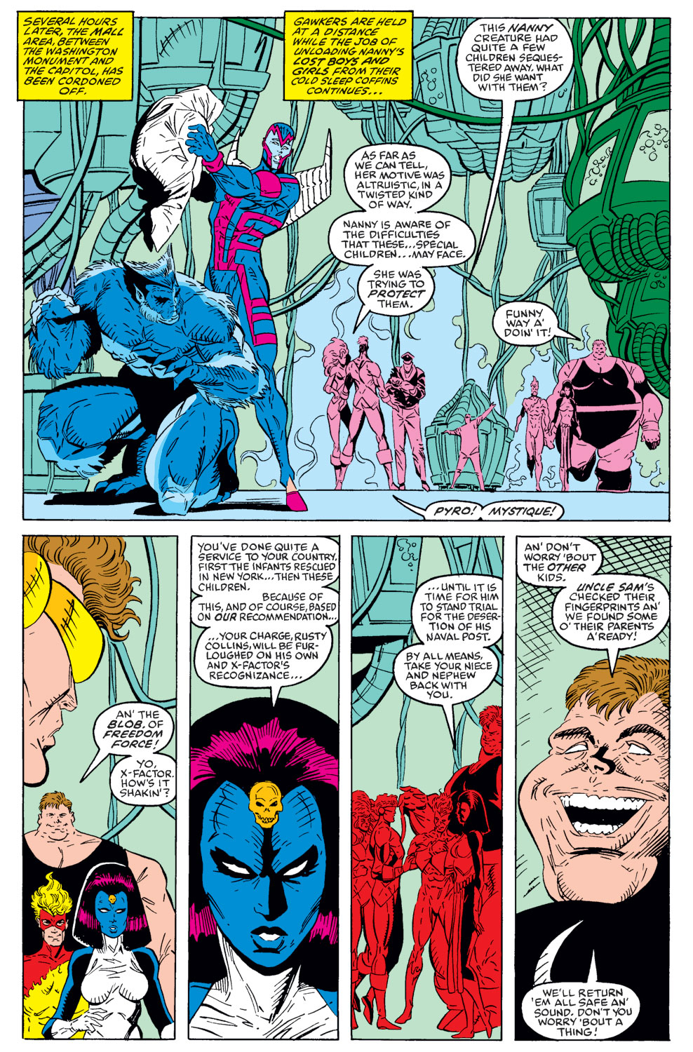 Read online X-Factor (1986) comic -  Issue #40 - 20