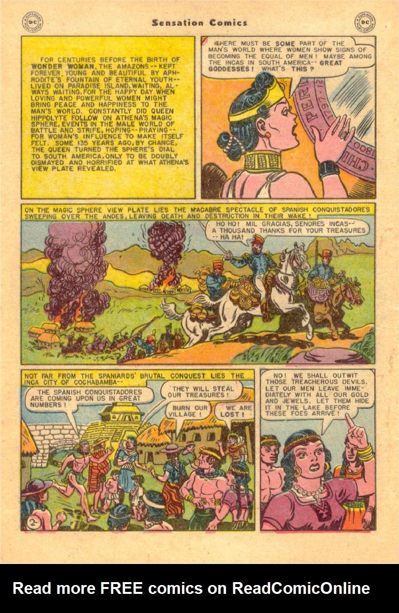 Read online Sensation (Mystery) Comics comic -  Issue #70 - 3
