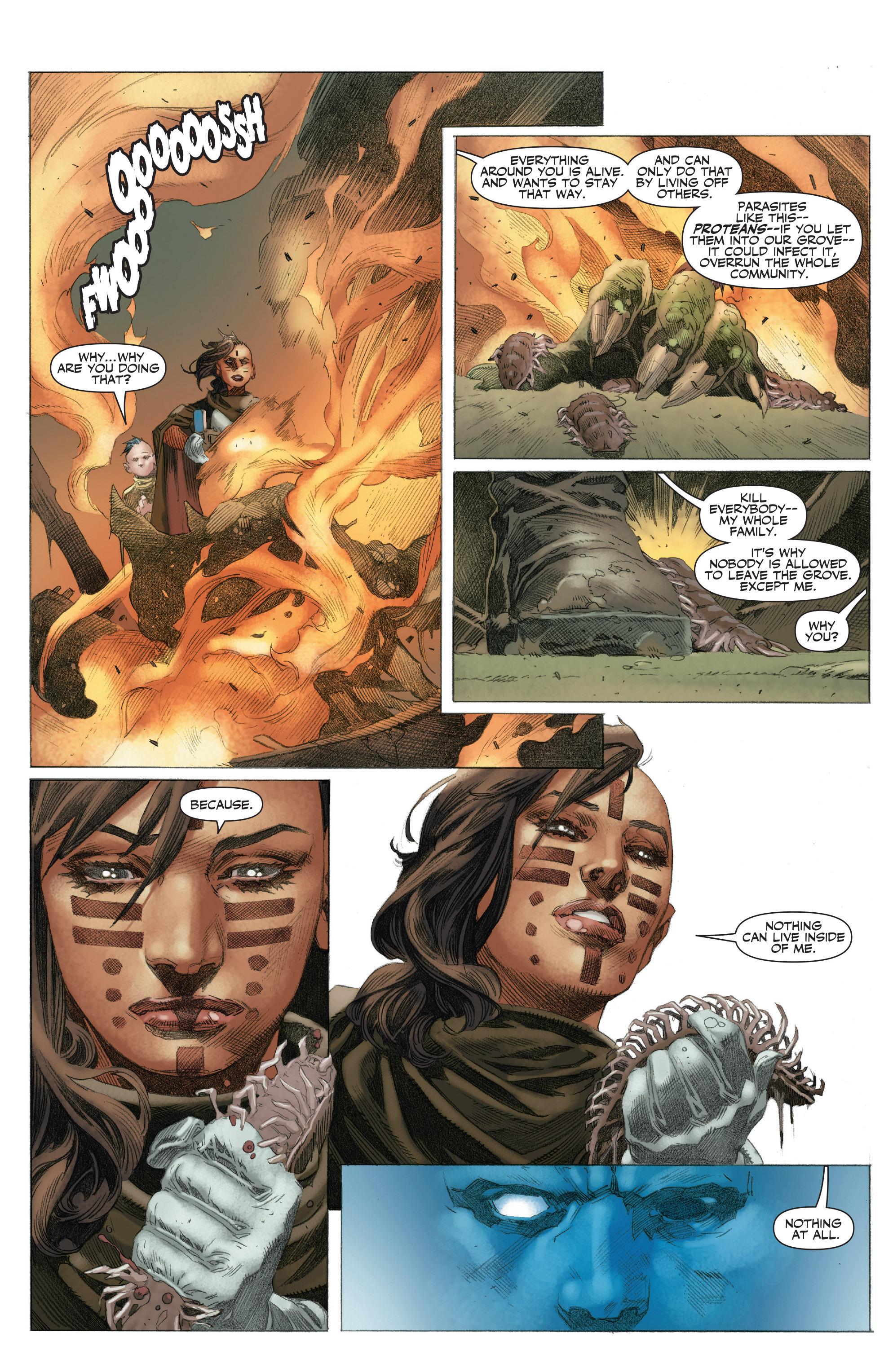 Read online 4001 A.D.: War Mother comic -  Issue #4001 A.D.: War Mother Full - 22