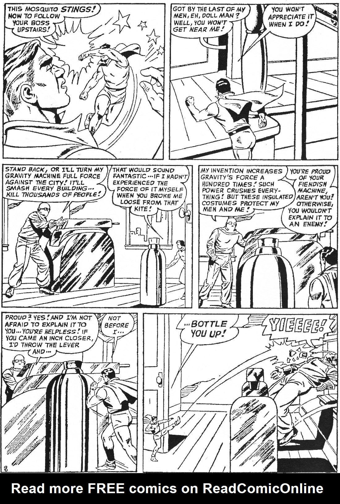 Read online Men of Mystery Comics comic -  Issue #63 - 10