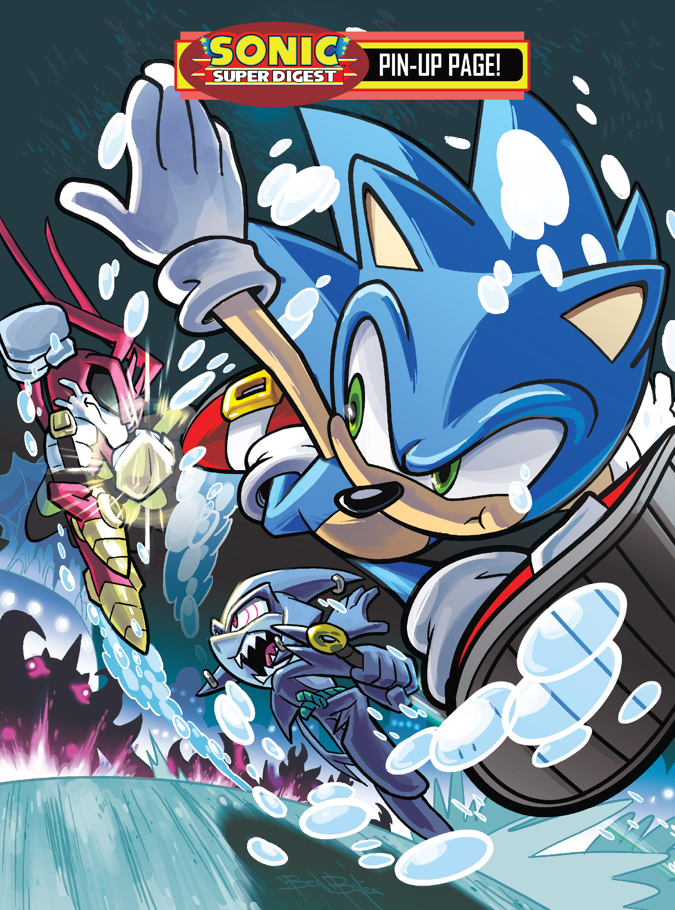 Read online Sonic Super Digest comic -  Issue #10 - 64