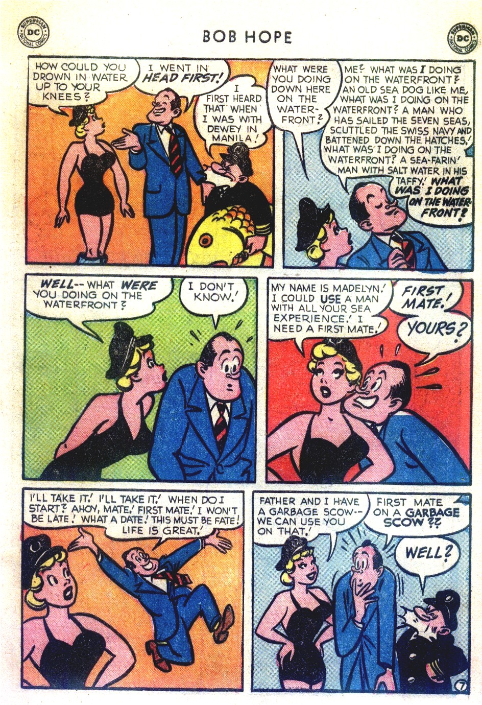 The Adventures of Bob Hope issue 27 - Page 9