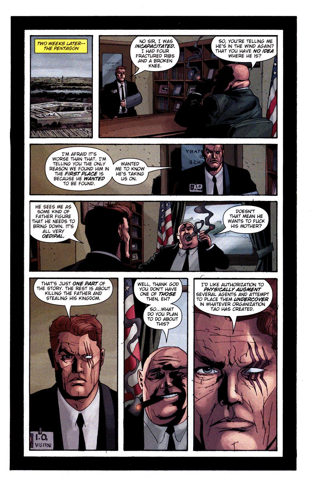 Read online Sleeper: Season Two comic -  Issue #5 - 22