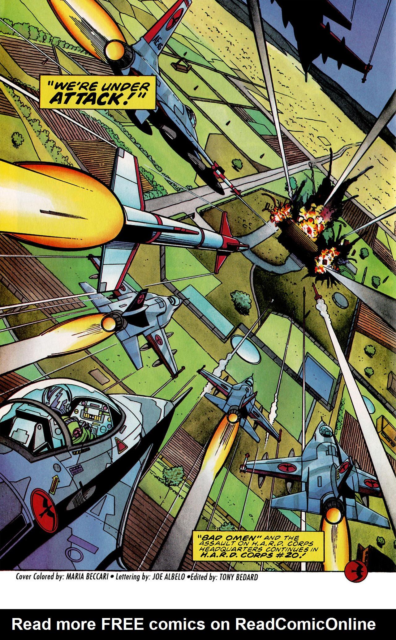 Read online Harbinger (1992) comic -  Issue #31 - 22