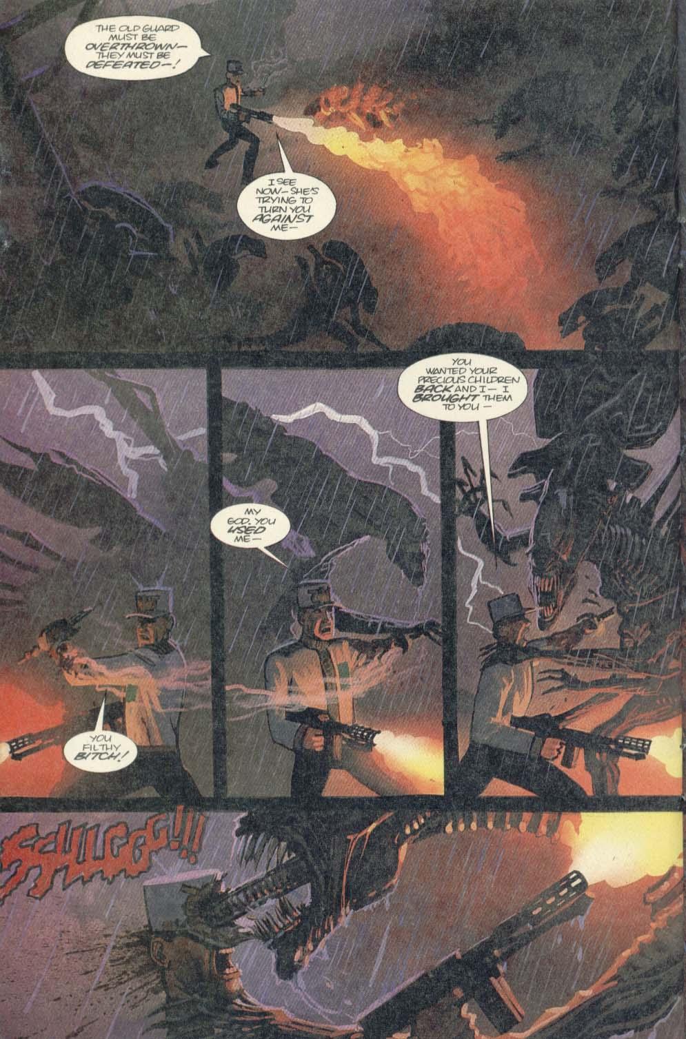 Read online Aliens (1989) comic -  Issue #4 - 22