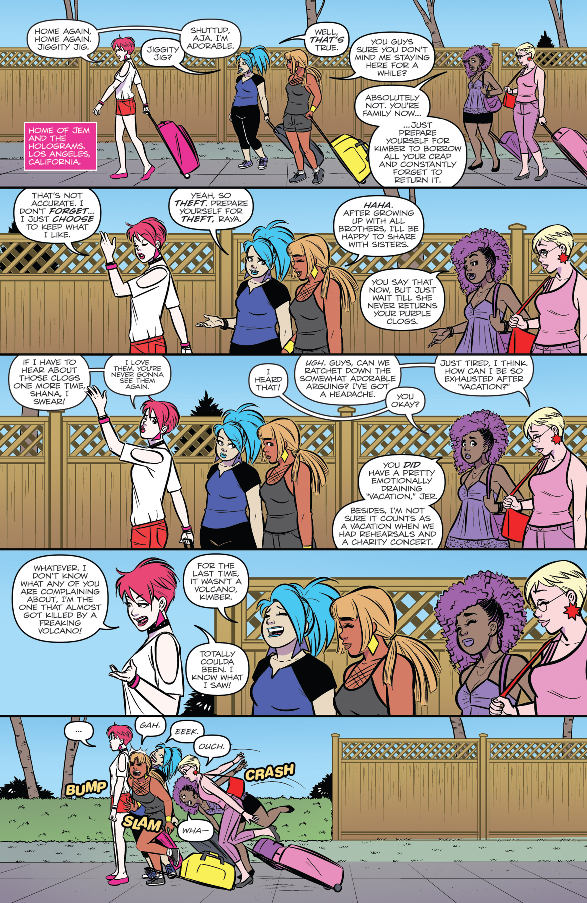 Read online Jem and The Holograms comic -  Issue #26 - 22