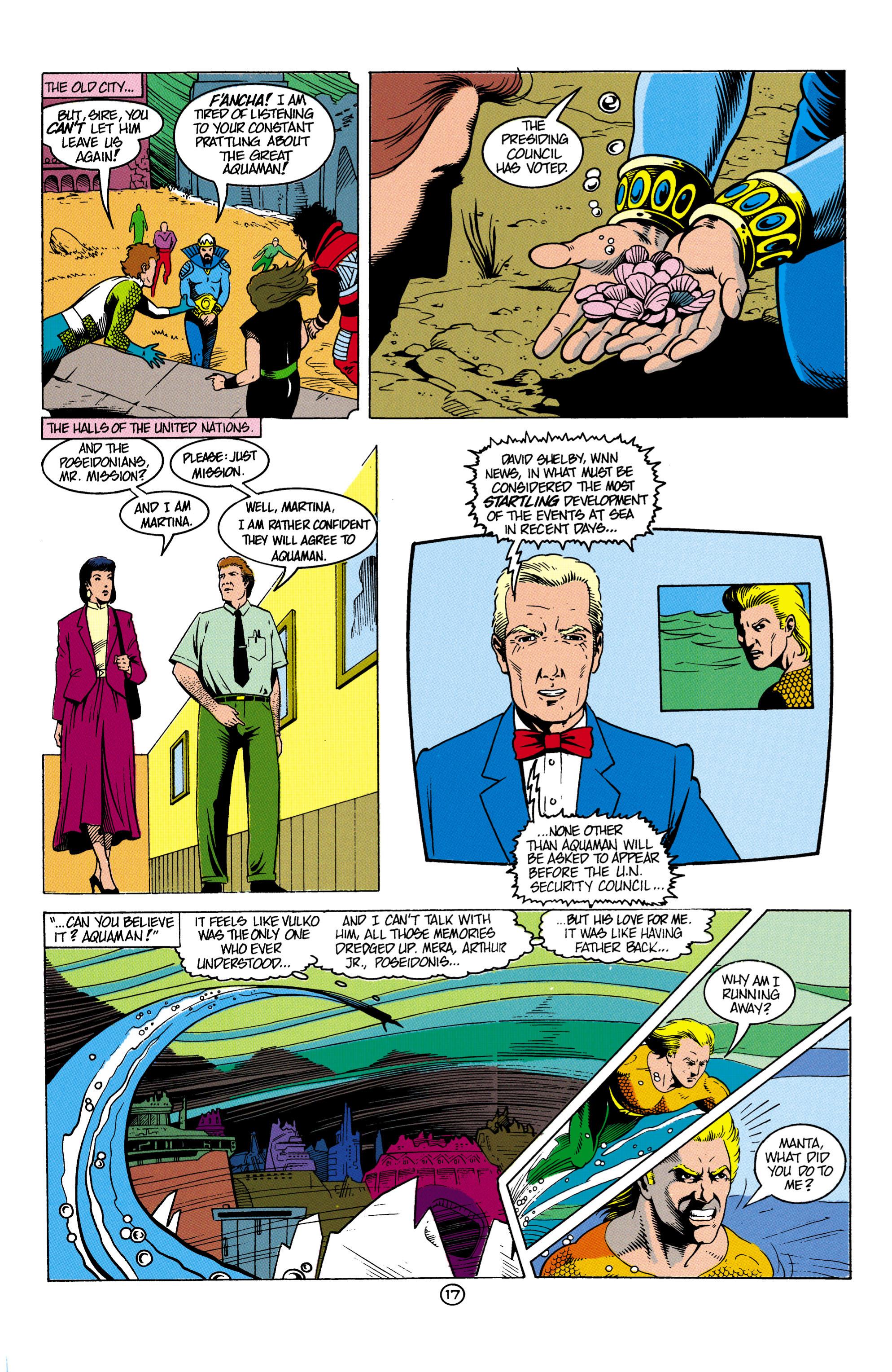 Read online Aquaman (1991) comic -  Issue #4 - 18