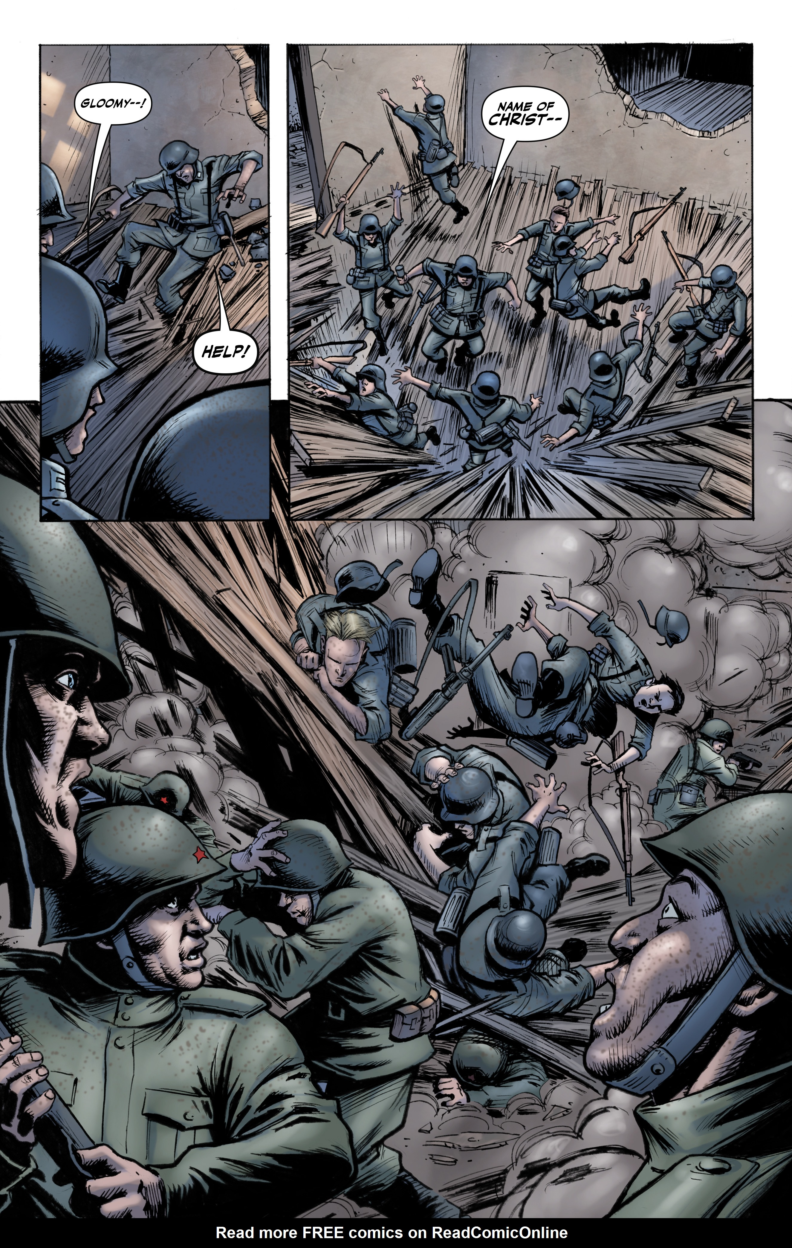Read online Battlefields: Night Witches comic -  Issue # TPB - 12