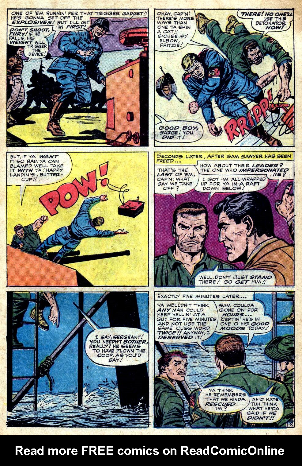 Read online Sgt. Fury comic -  Issue #25 - 27