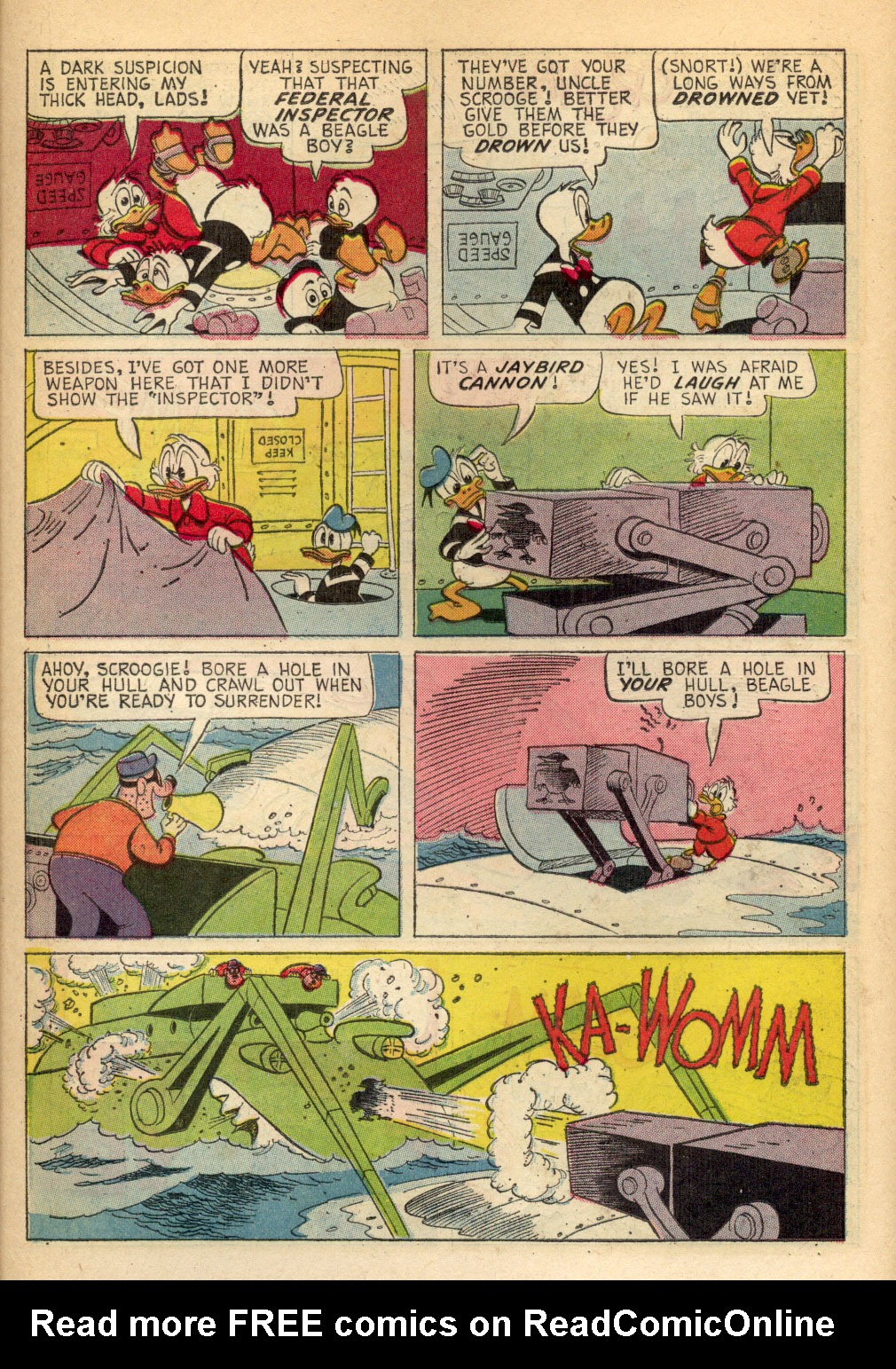 Read online Uncle Scrooge (1953) comic -  Issue #70 - 14