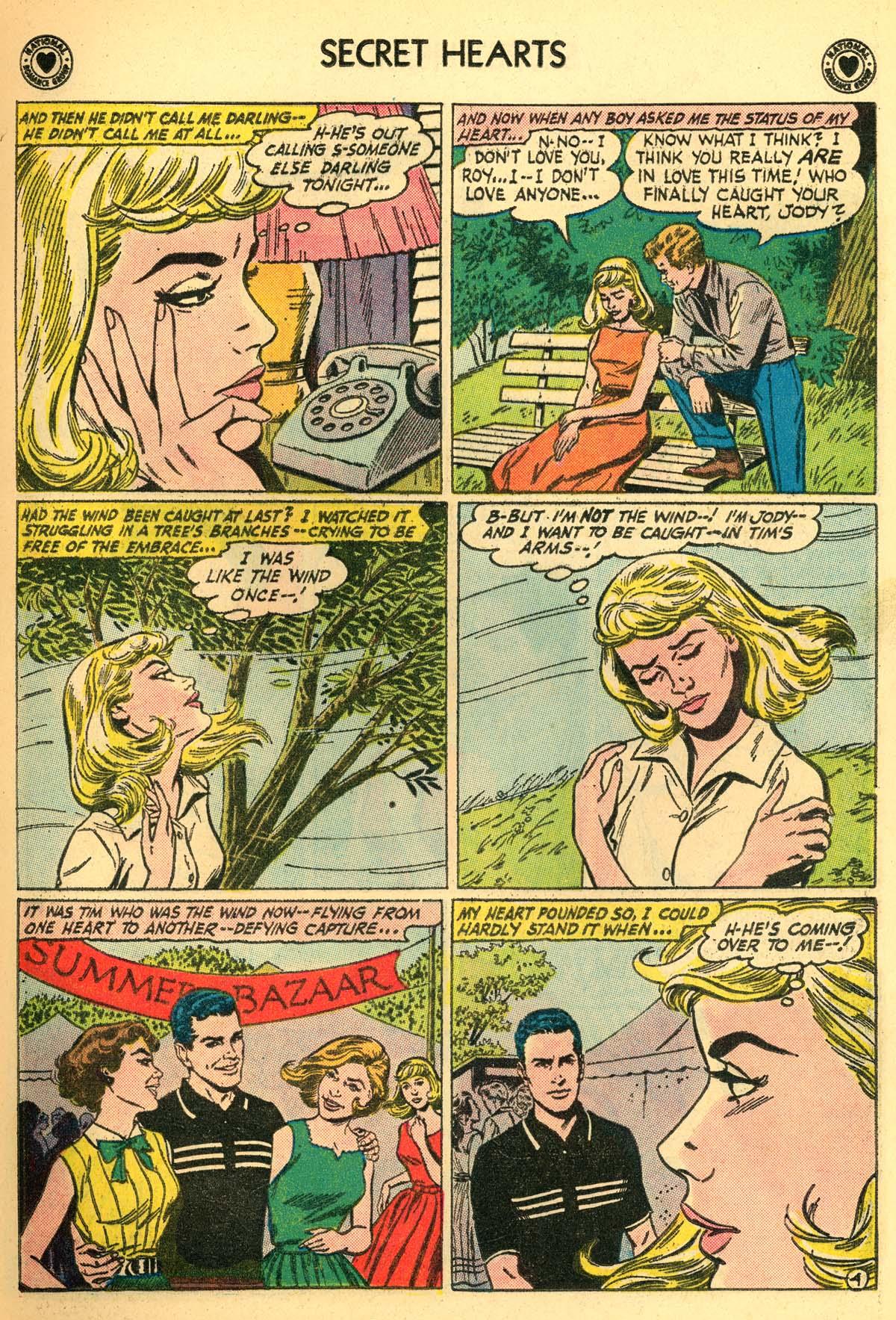Read online Secret Hearts comic -  Issue #66 - 17