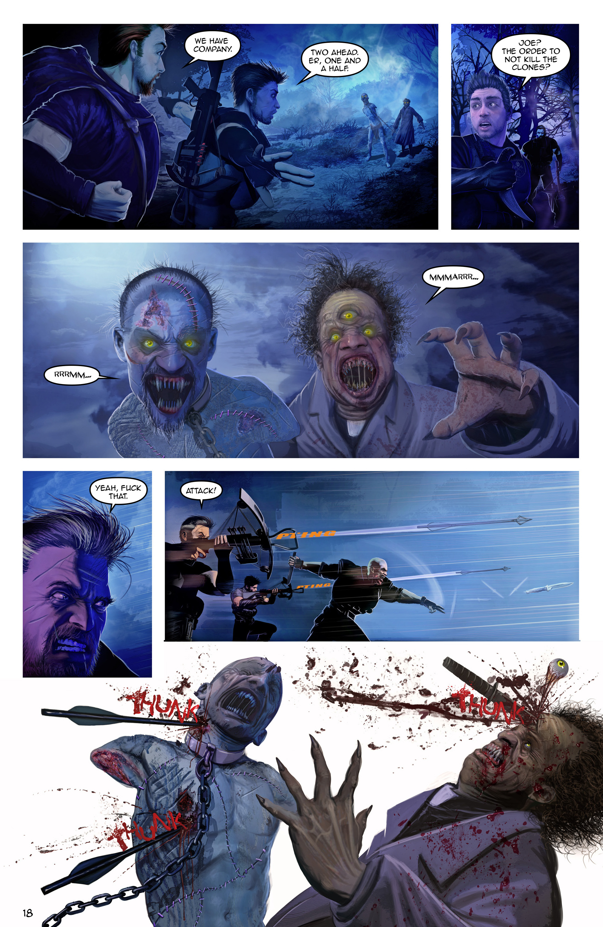 Read online Escape from Jesus Island comic -  Issue #3 - 18