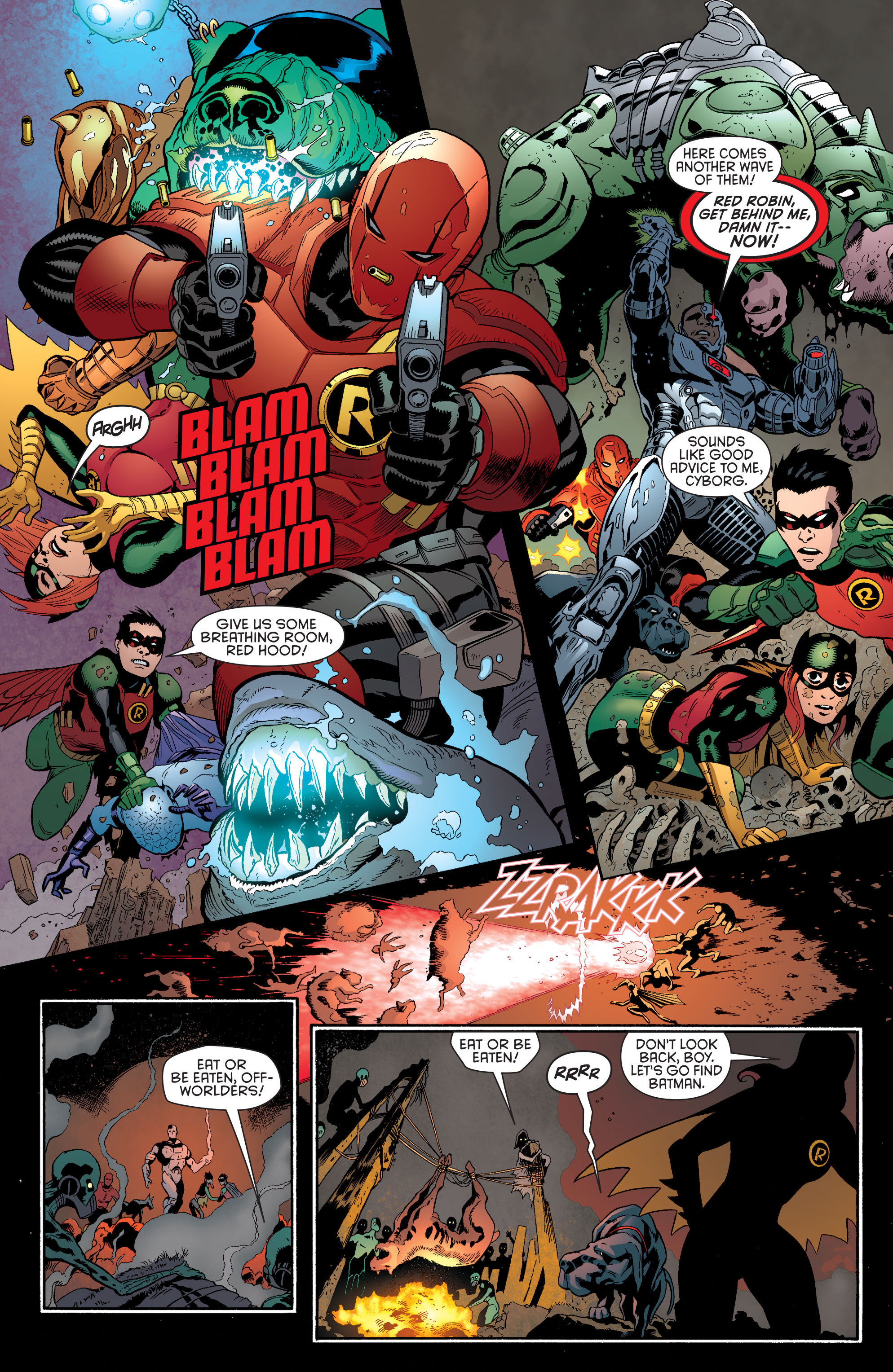 Read online Batman and Robin (2011) comic -  Issue #36 - 7