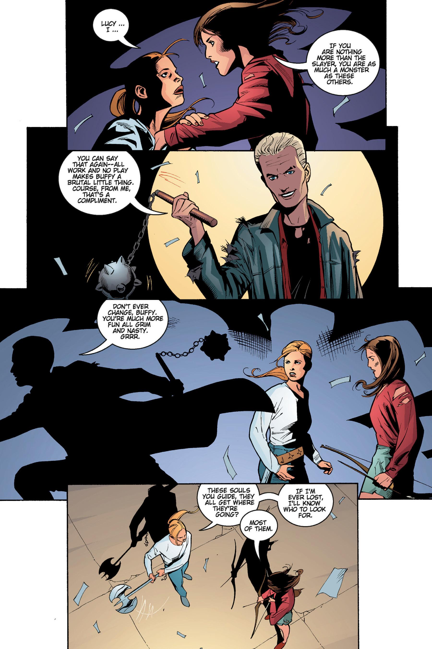 Read online Buffy the Vampire Slayer: Omnibus comic -  Issue # TPB 5 - 221