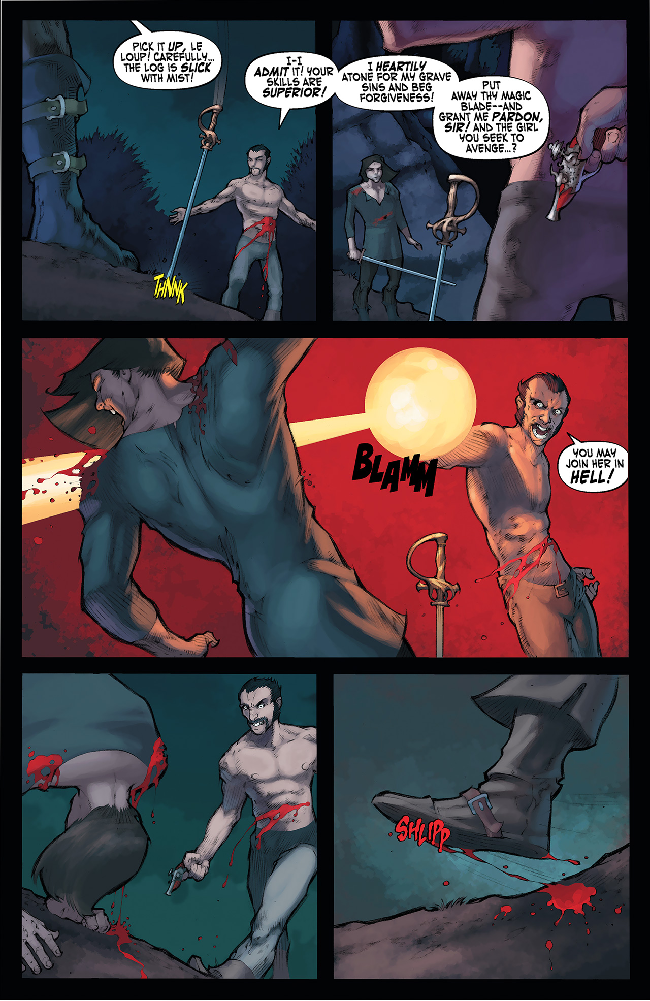 Read online Solomon Kane: Red Shadows comic -  Issue #4 - 20