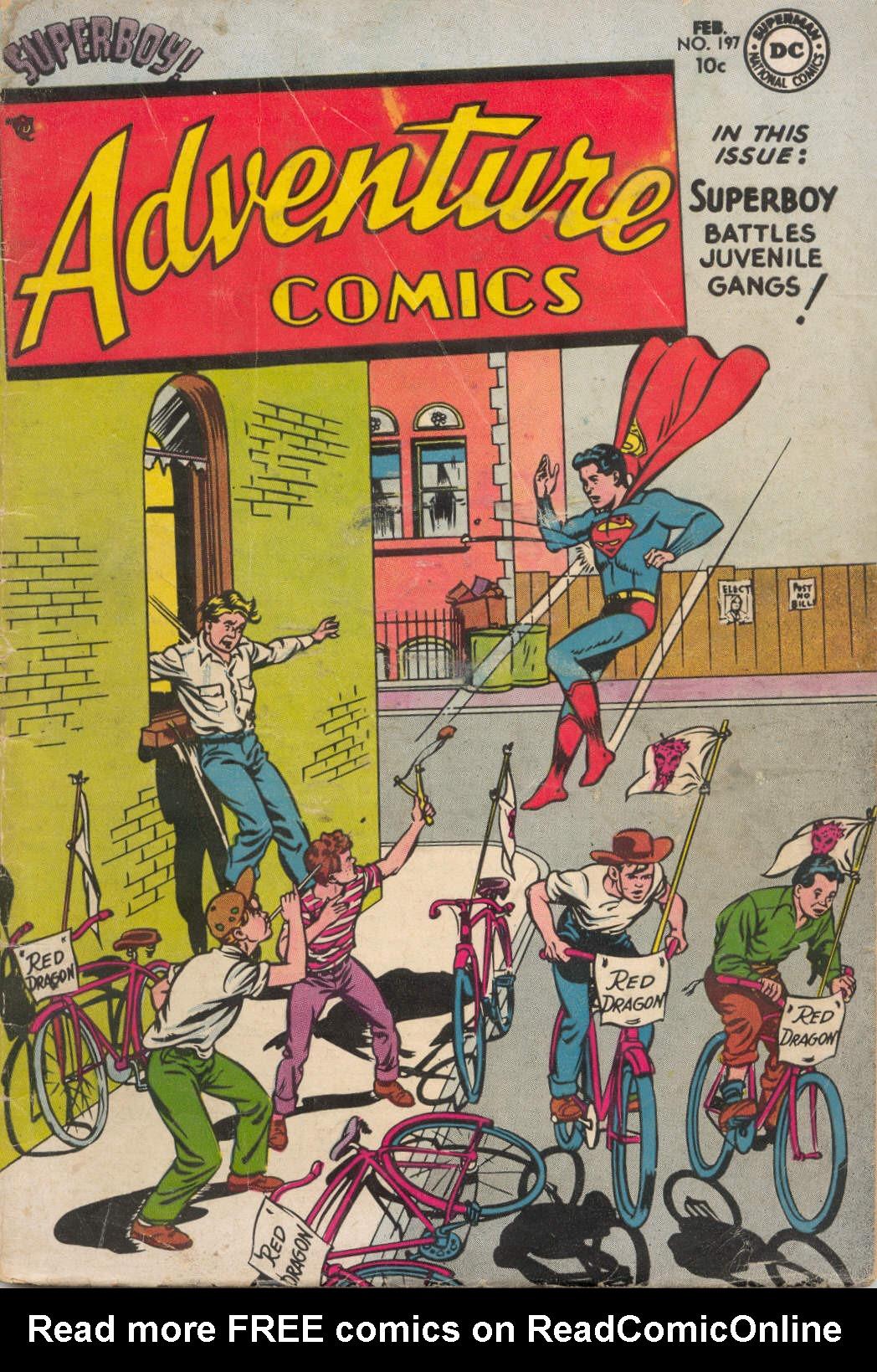 Read online Adventure Comics (1938) comic -  Issue #197 - 1