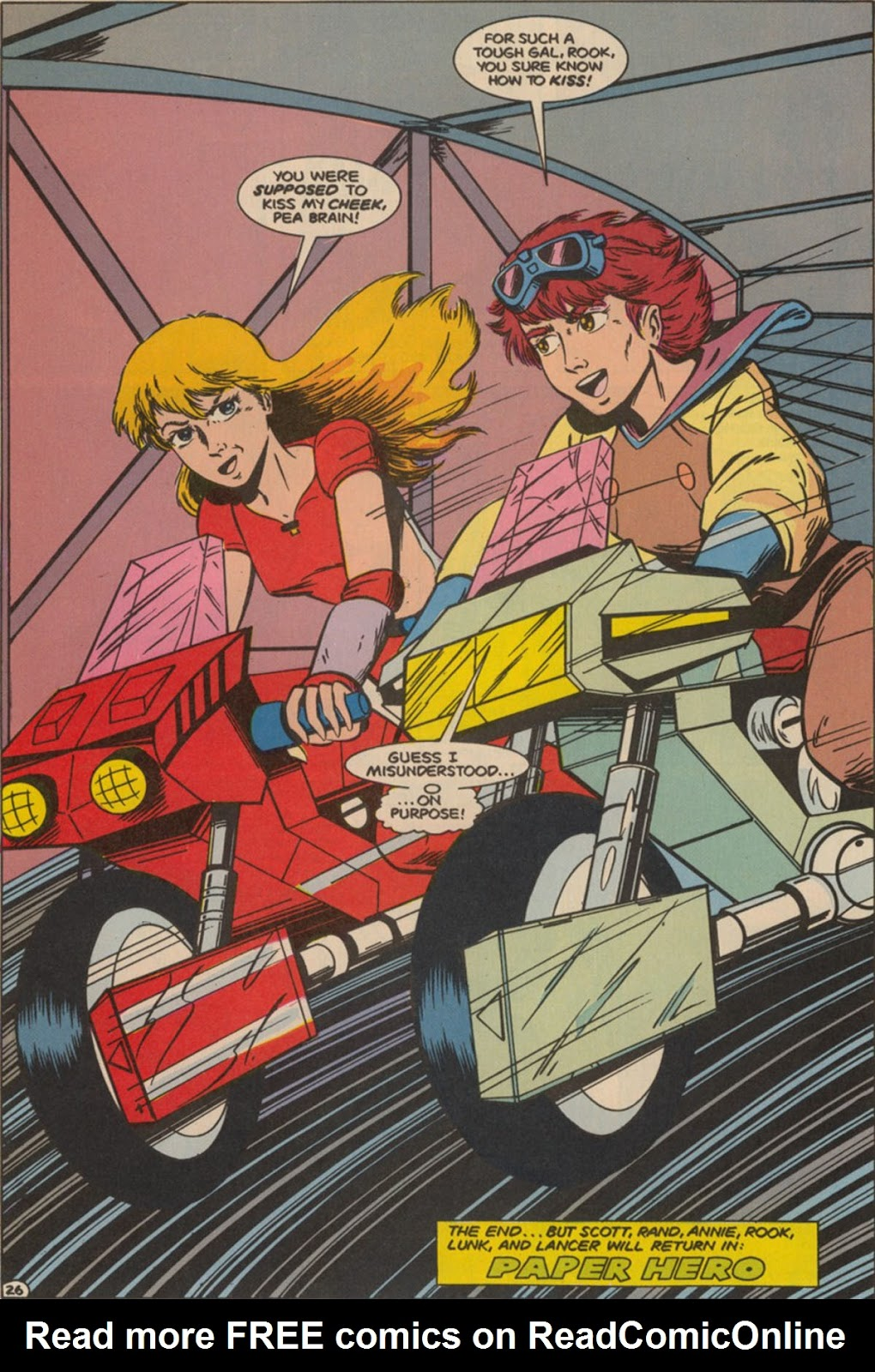 Robotech The New Generation issue 6 - Page 33