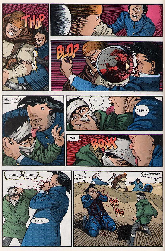 Read online Akira comic -  Issue #17 - 31