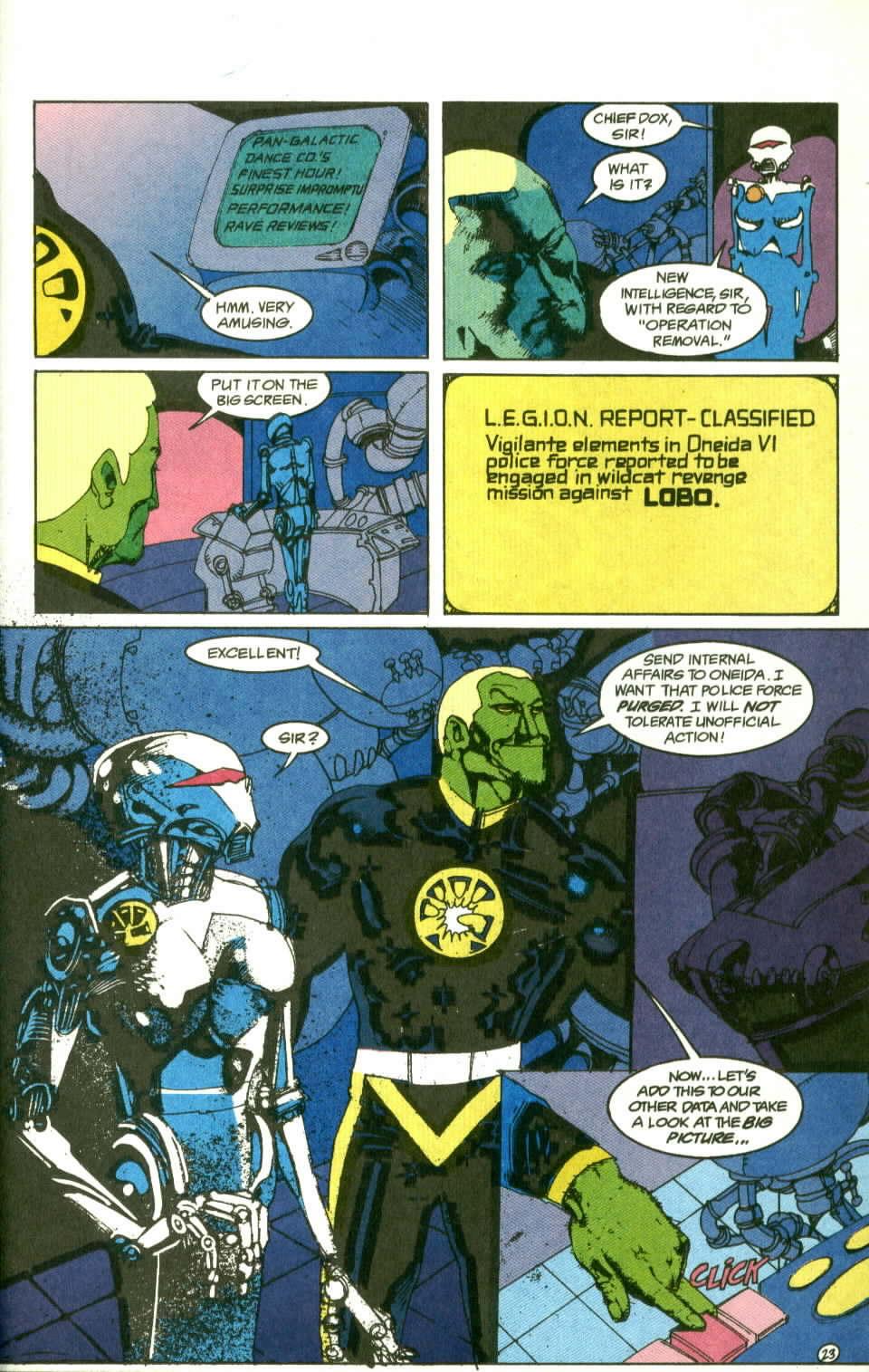 Read online Lobo (1990) comic -  Issue #2 - 24