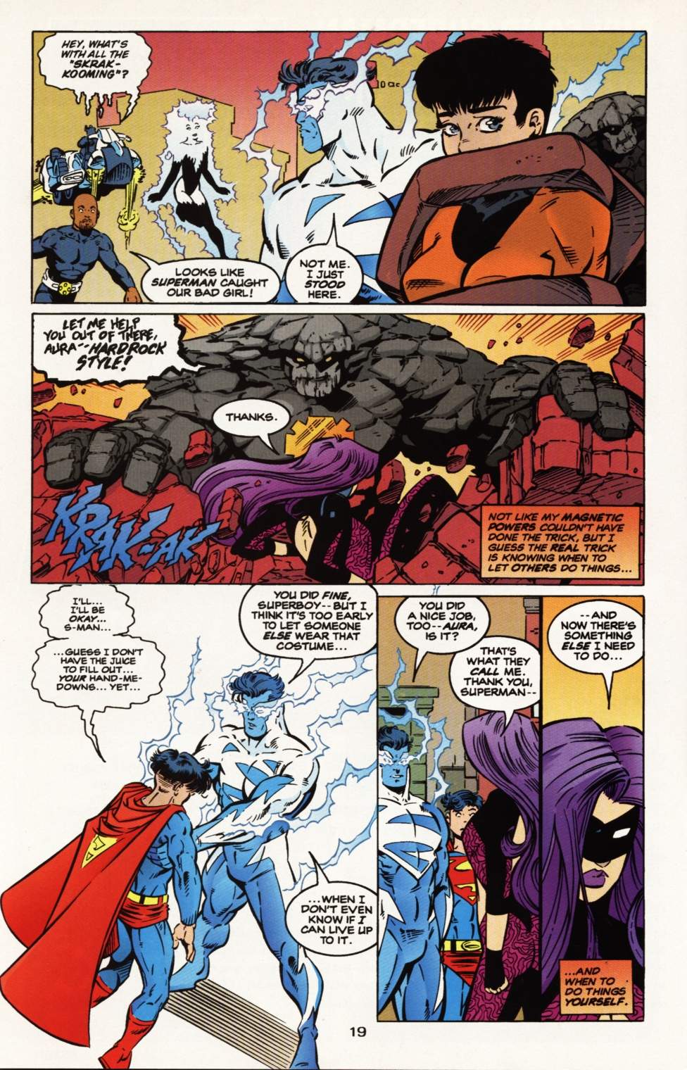 Read online Superboy & The Ravers comic -  Issue #9 - 20
