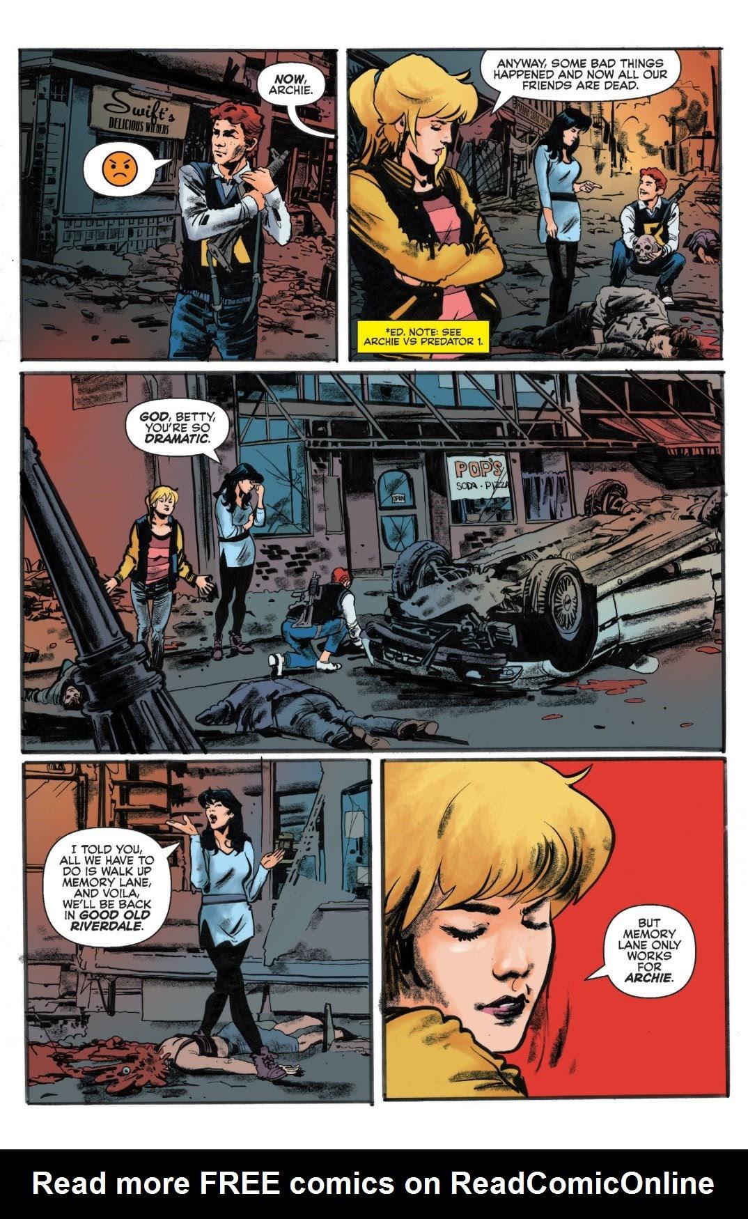 Archie vs. Predator II #1 #1 - English 4