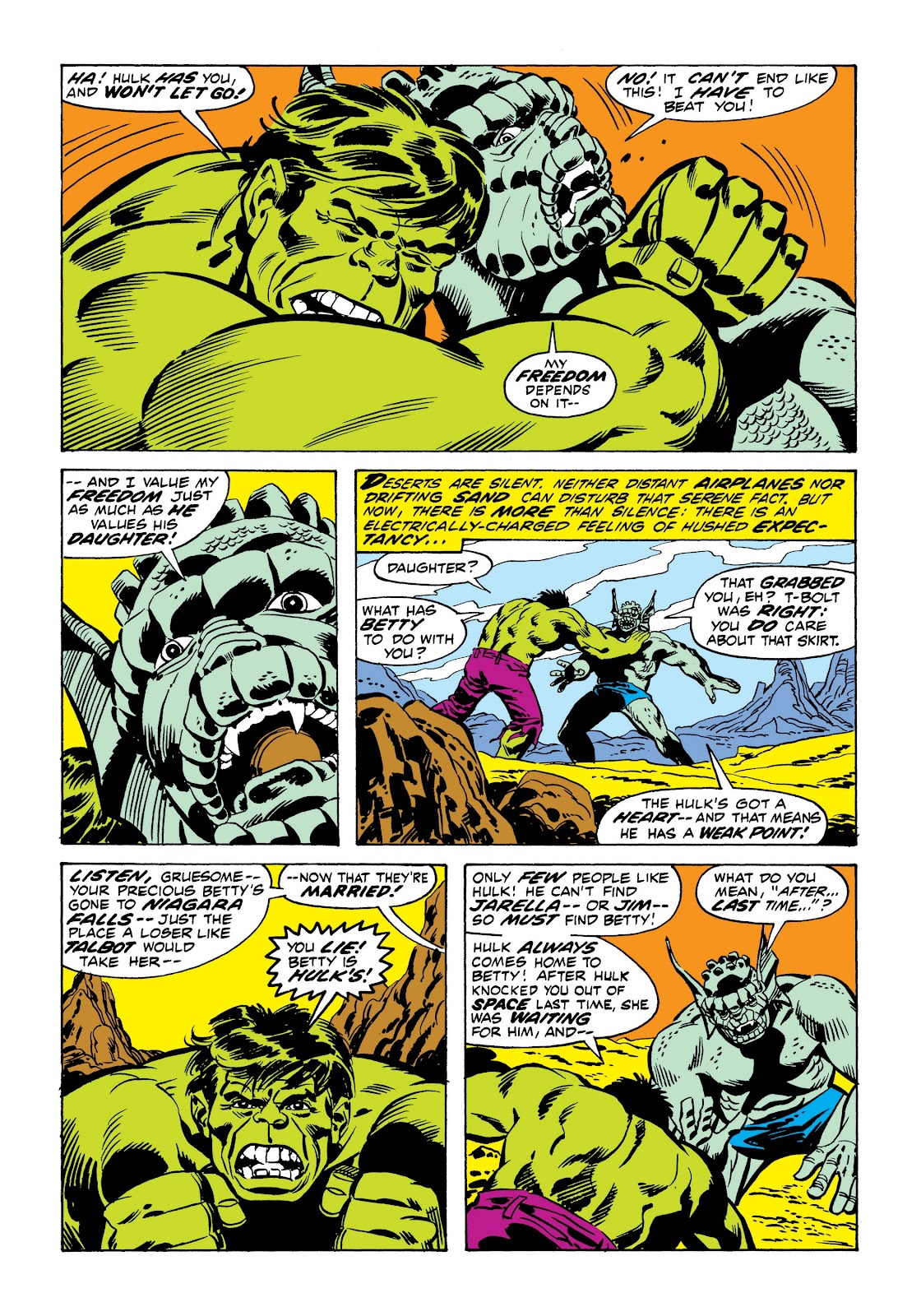 Read online Marvel Masterworks: The Incredible Hulk comic -  Issue # TPB 9 (Part 1) - 70