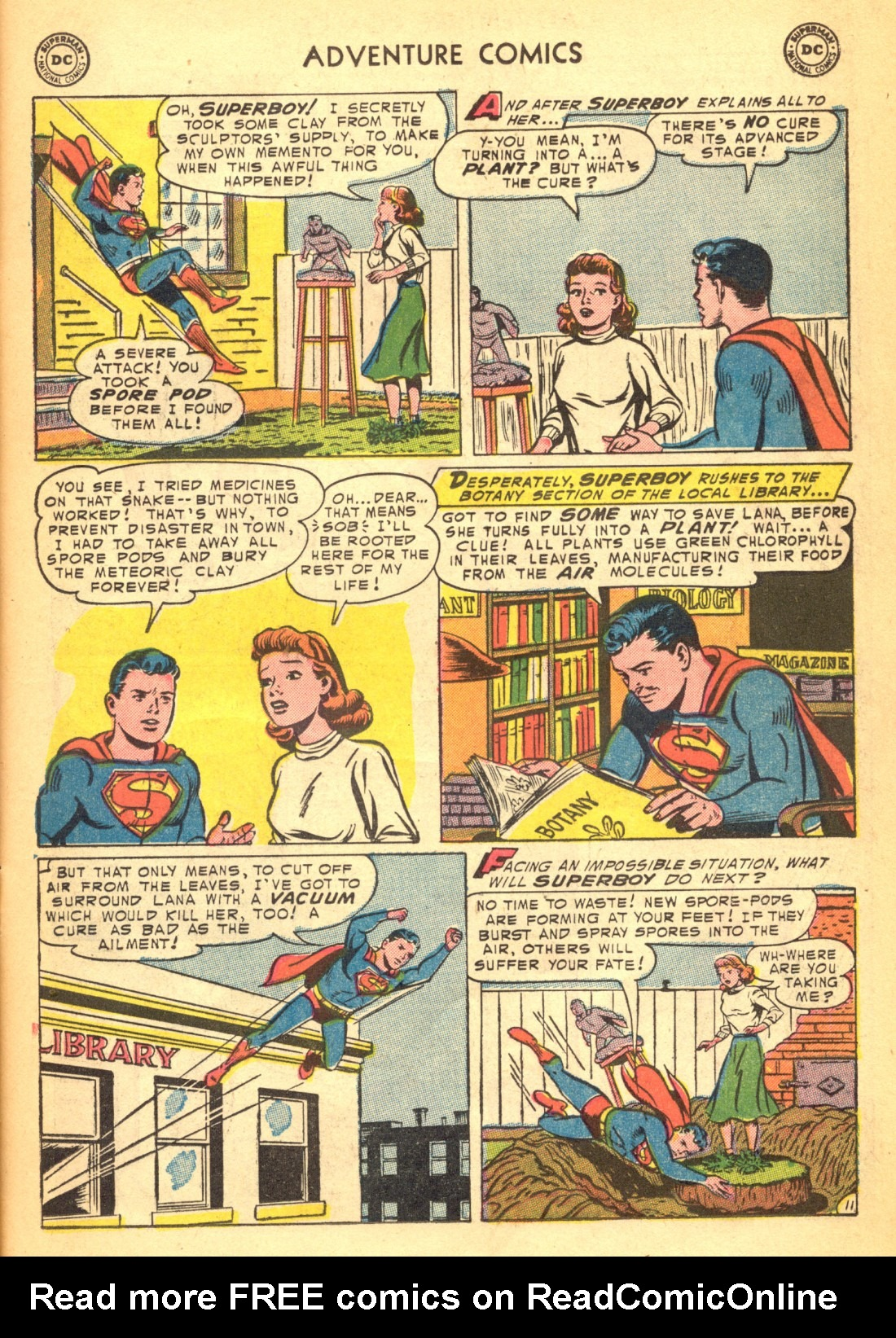 Read online Adventure Comics (1938) comic -  Issue #202 - 13