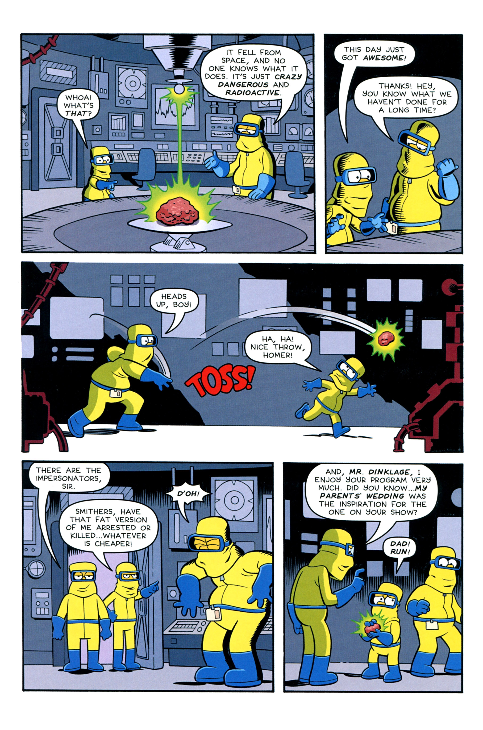 Read online Treehouse of Horror comic -  Issue #20 - 36