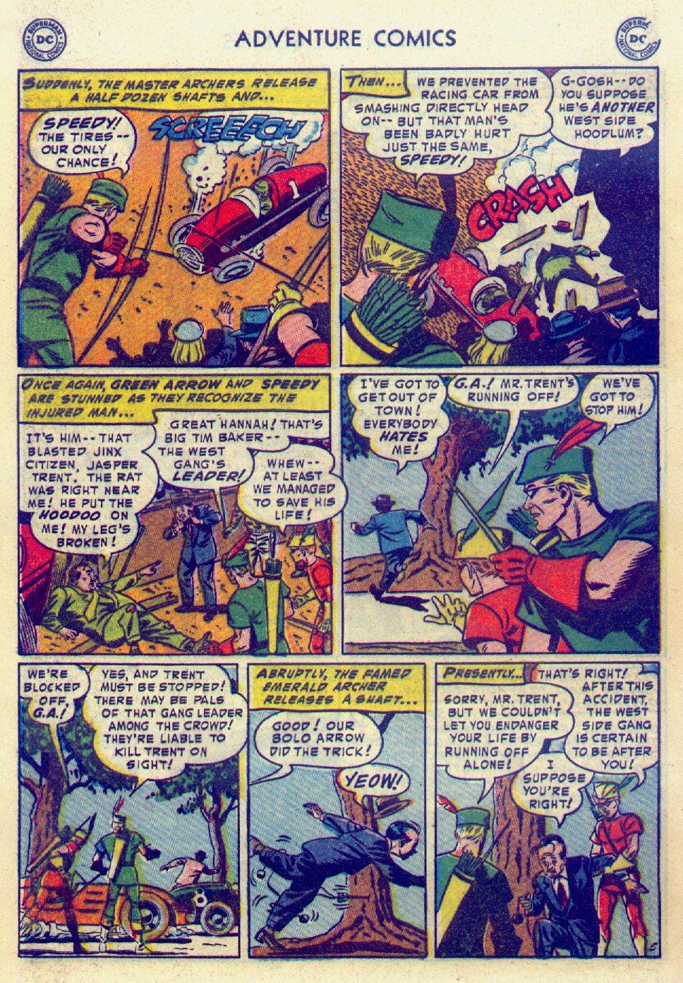 Read online Adventure Comics (1938) comic -  Issue #201 - 38