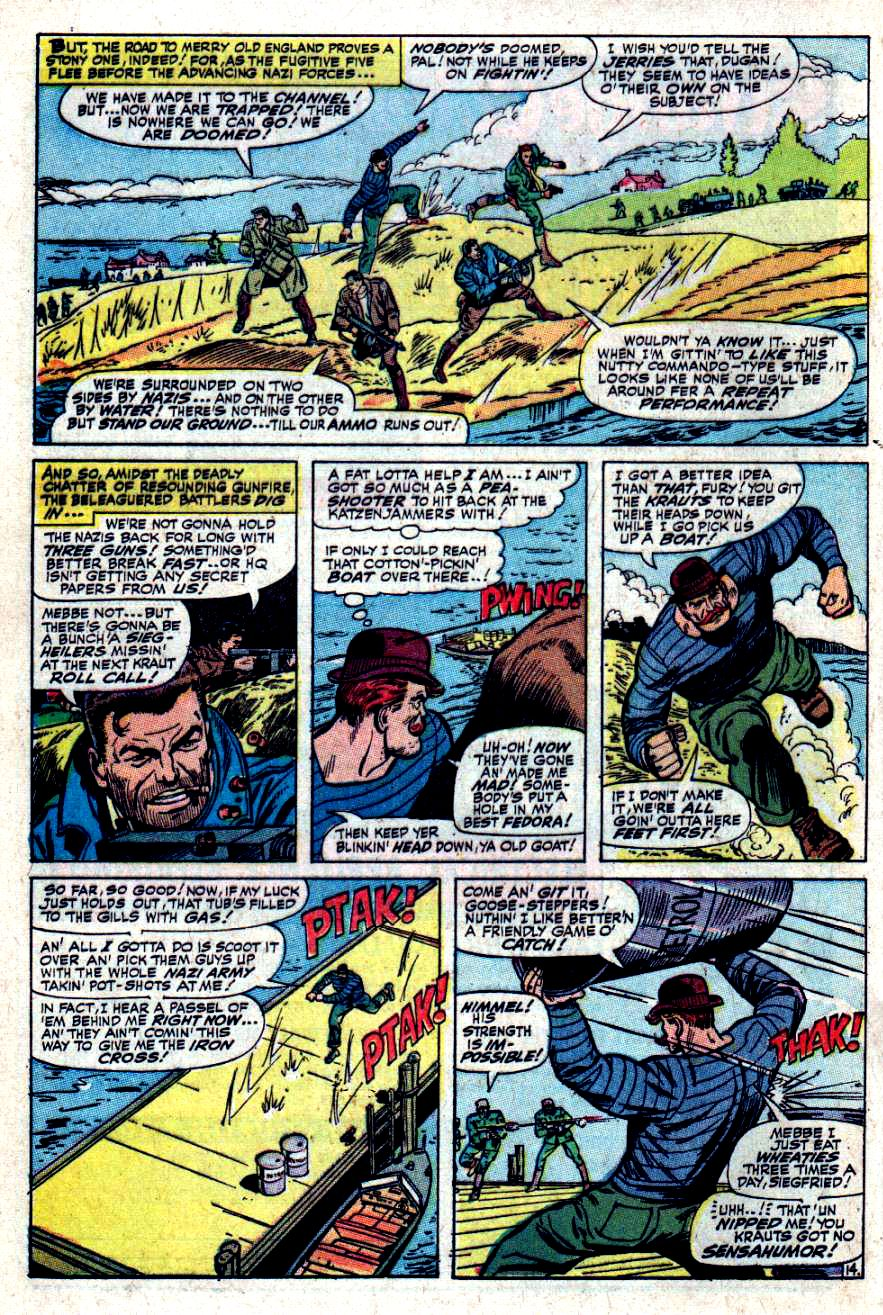 Read online Sgt. Fury comic -  Issue #34 - 20