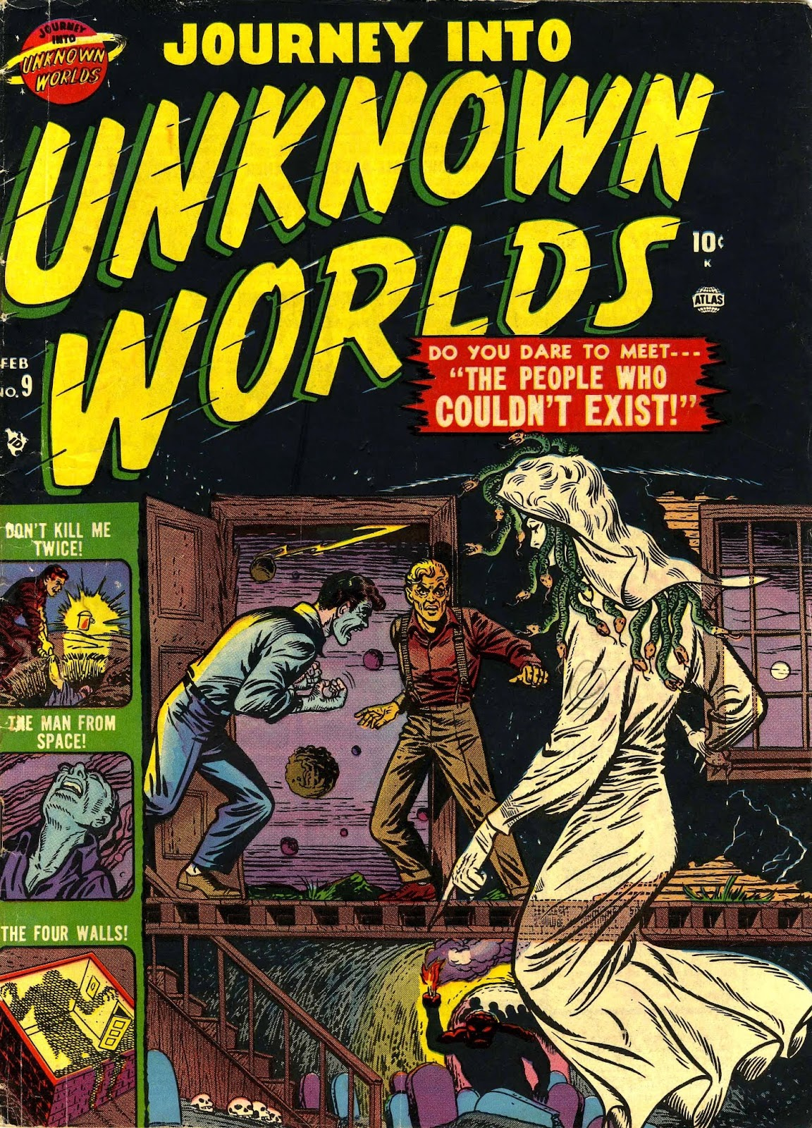 Journey Into Unknown Worlds (1950) issue 9 - Page 1
