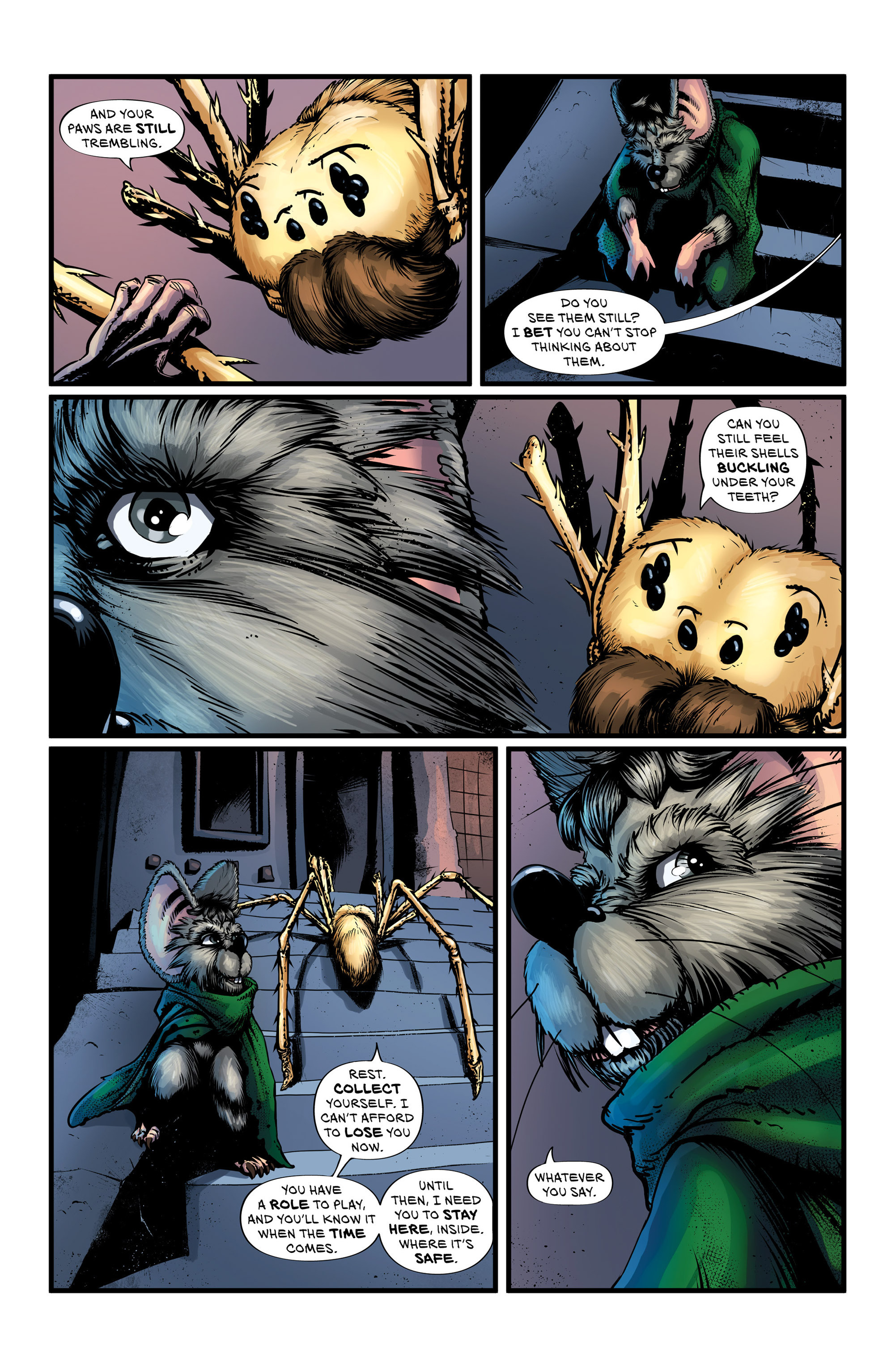 Read online Wretched Things comic -  Issue #3 - 14