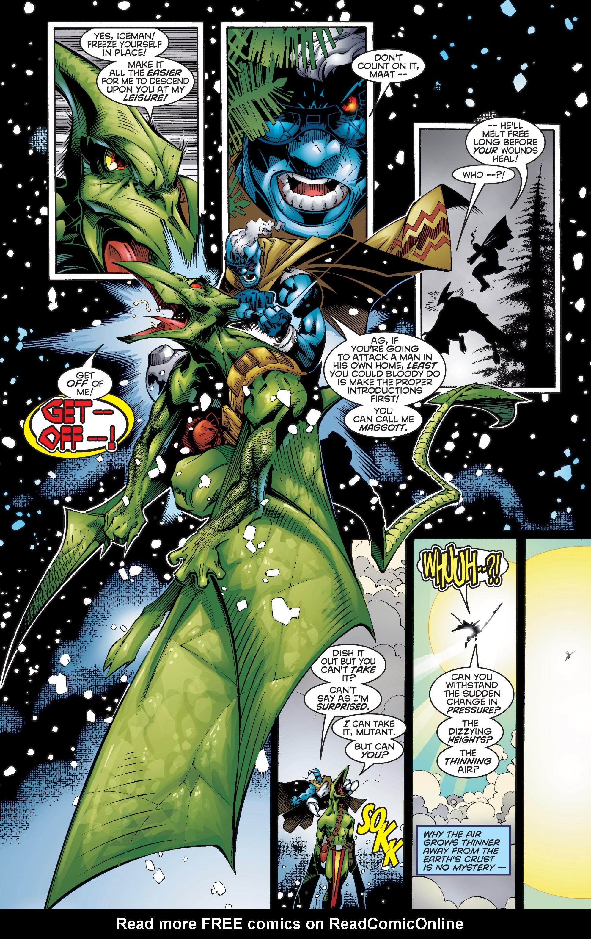 Read online Uncanny X-Men (1963) comic -  Issue #354 - 9