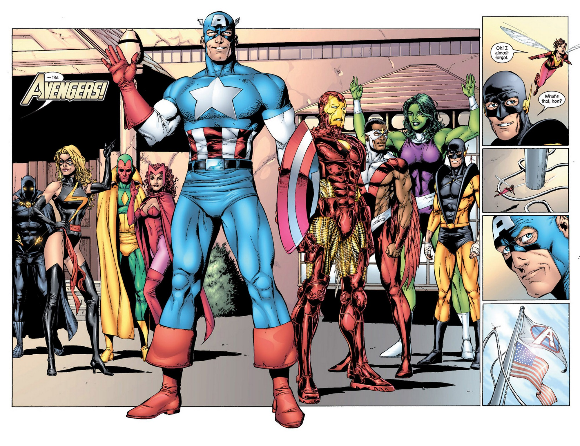 Read online Avengers (1998) comic -  Issue #61 - 18