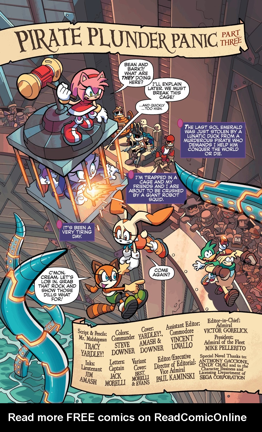 Read online Sonic Universe comic -  Issue #57 - 3