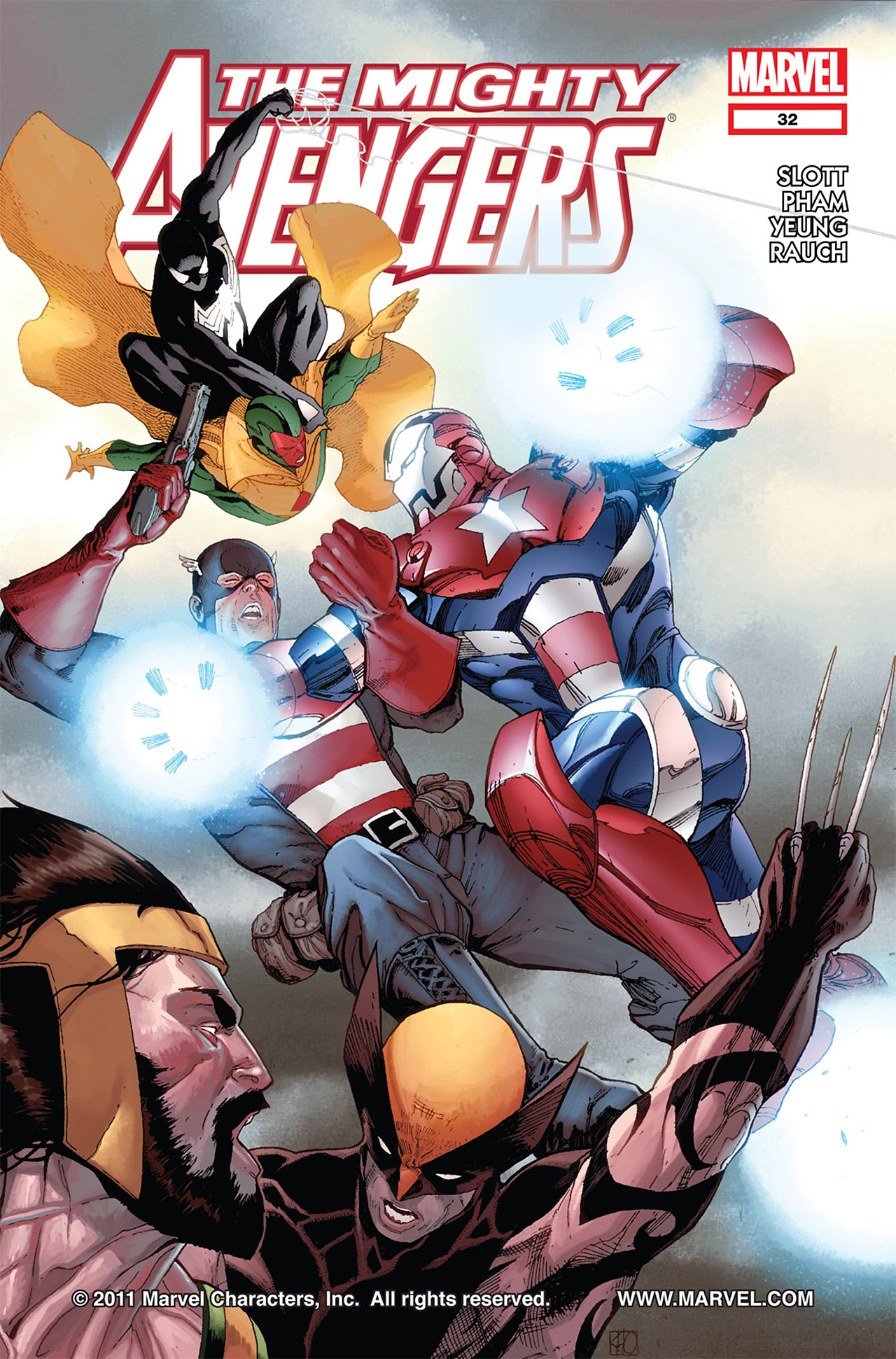 The Mighty Avengers 32 Page 1