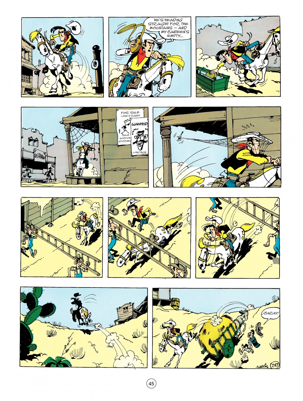 Read online A Lucky Luke Adventure comic -  Issue #44 - 45