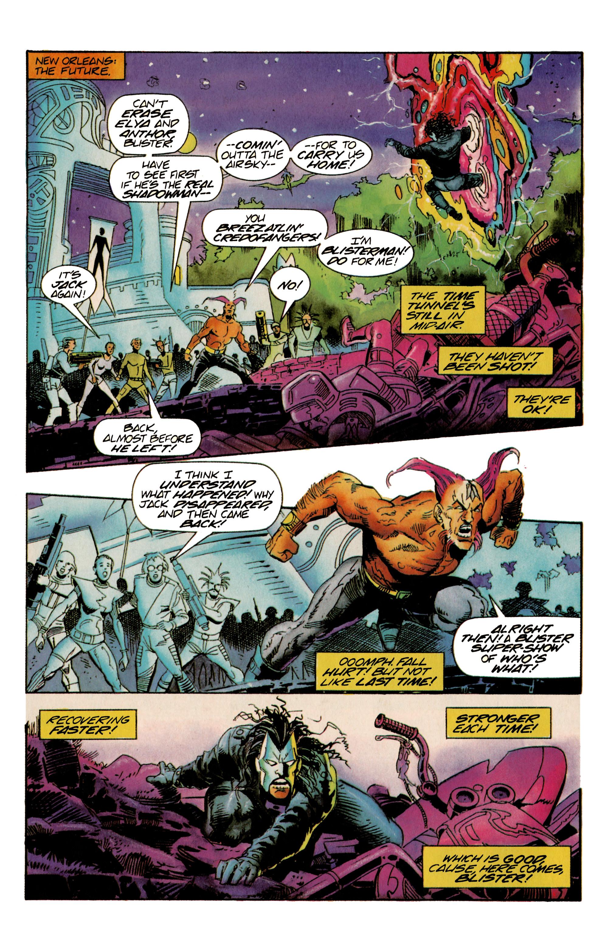 Read online Shadowman (1992) comic -  Issue #22 - 8