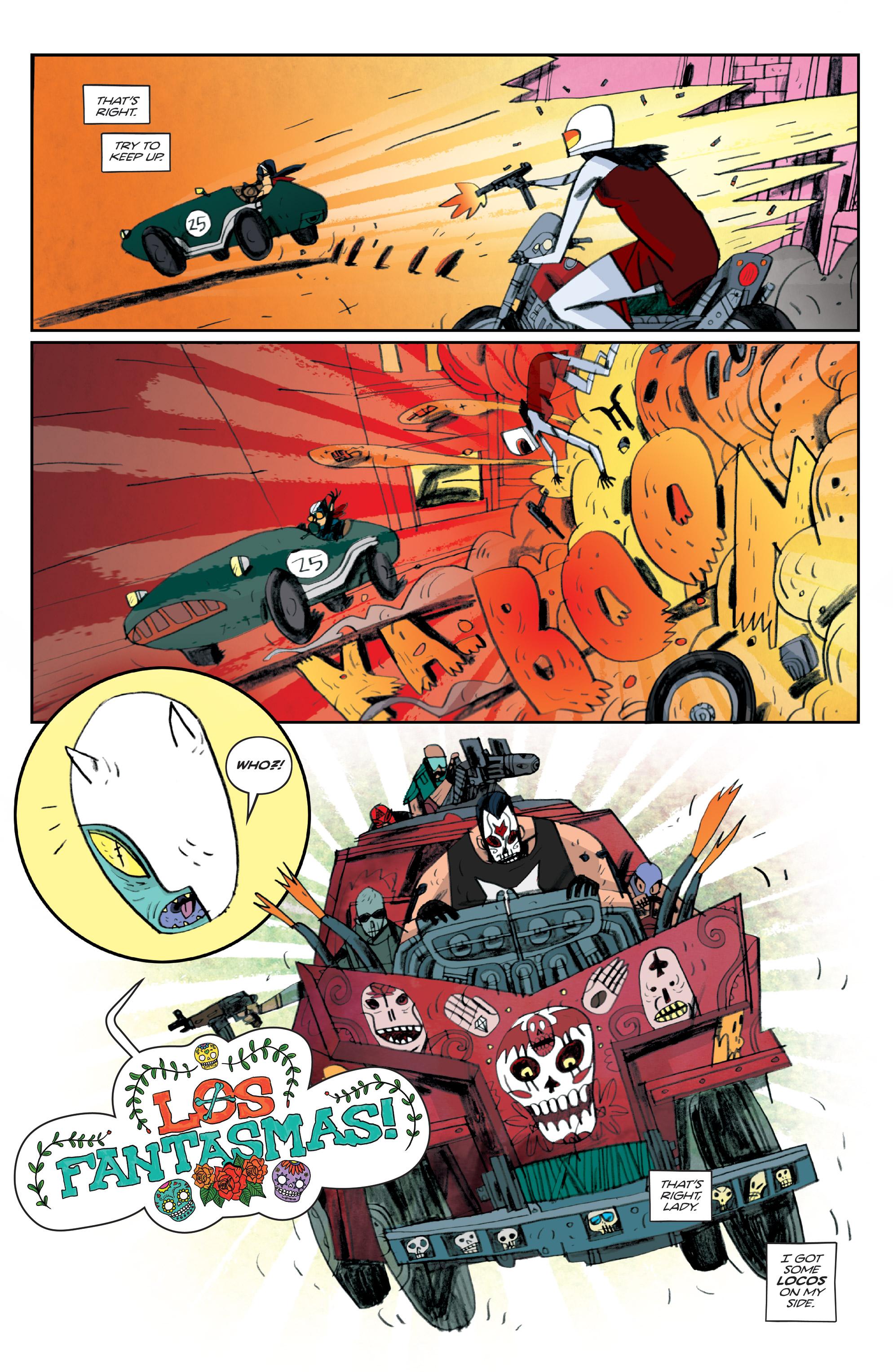 Read online Helena Crash comic -  Issue #4 - 16