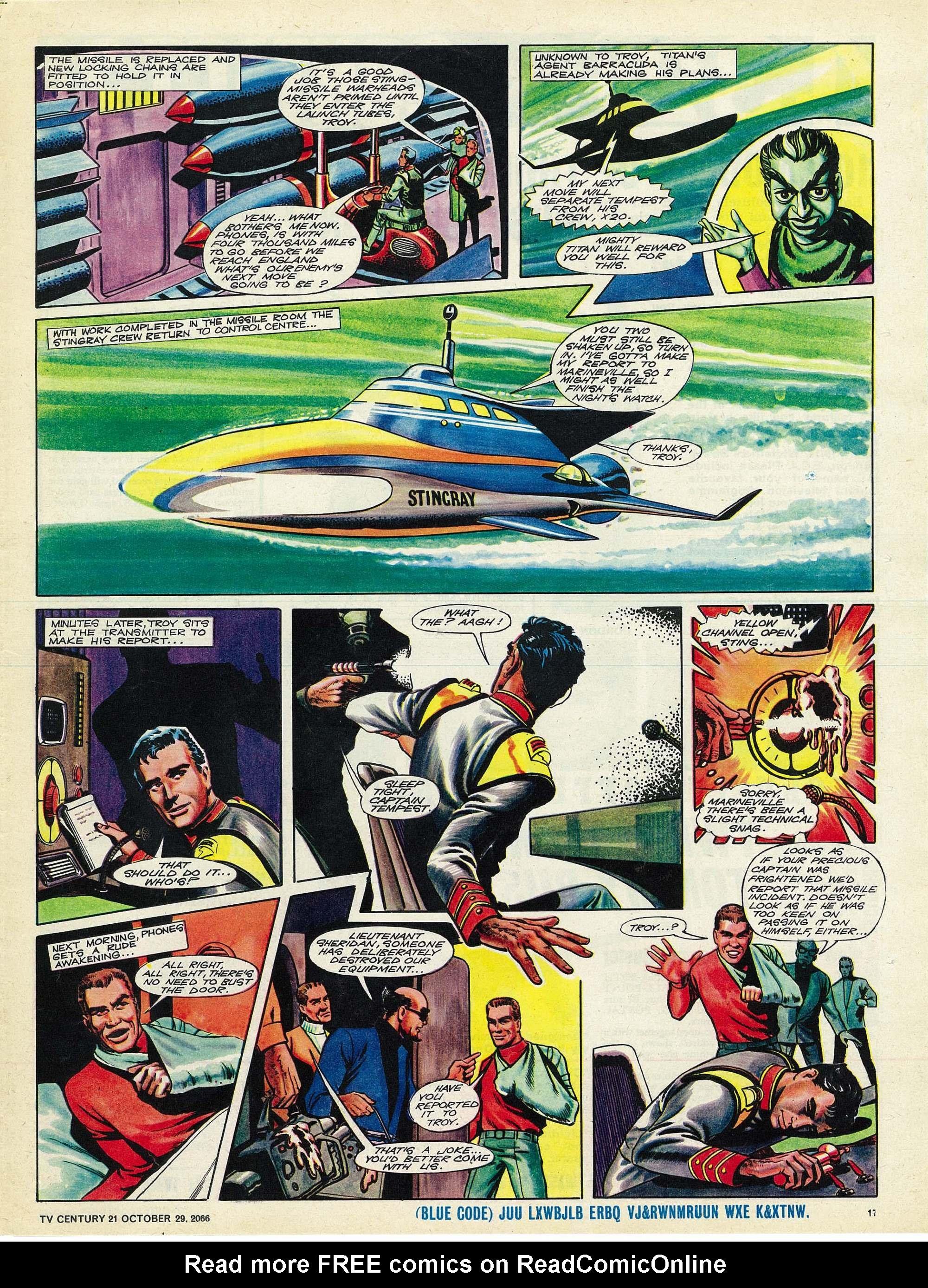 Read online TV Century 21 (TV 21) comic -  Issue #93 - 16
