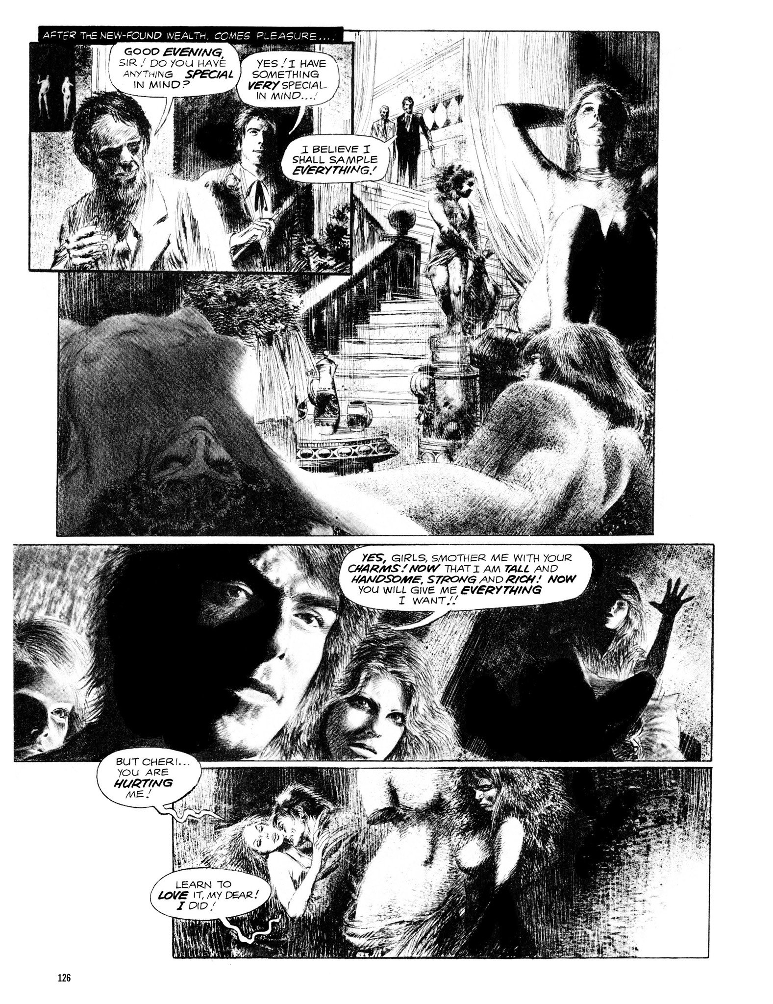 Read online Eerie Archives comic -  Issue # TPB 13 - 127