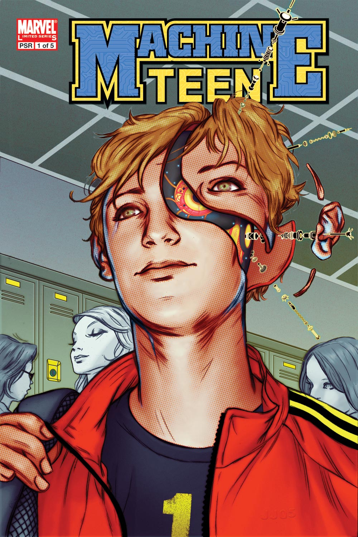 Read online Machine Teen comic -  Issue #1 - 1
