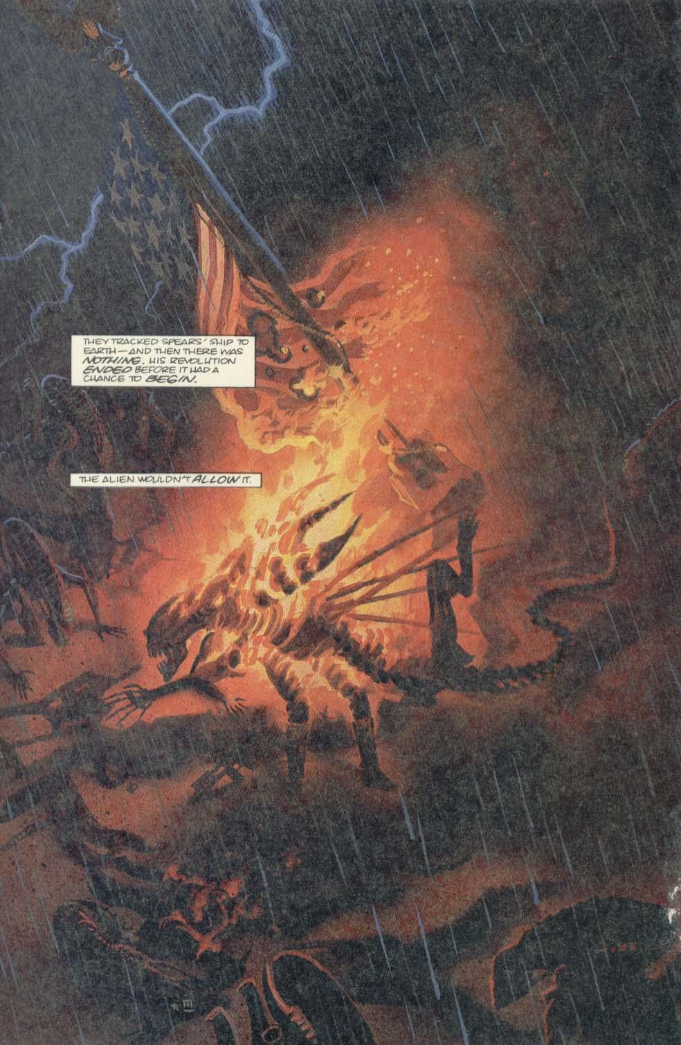 Read online Aliens (1989) comic -  Issue #4 - 23