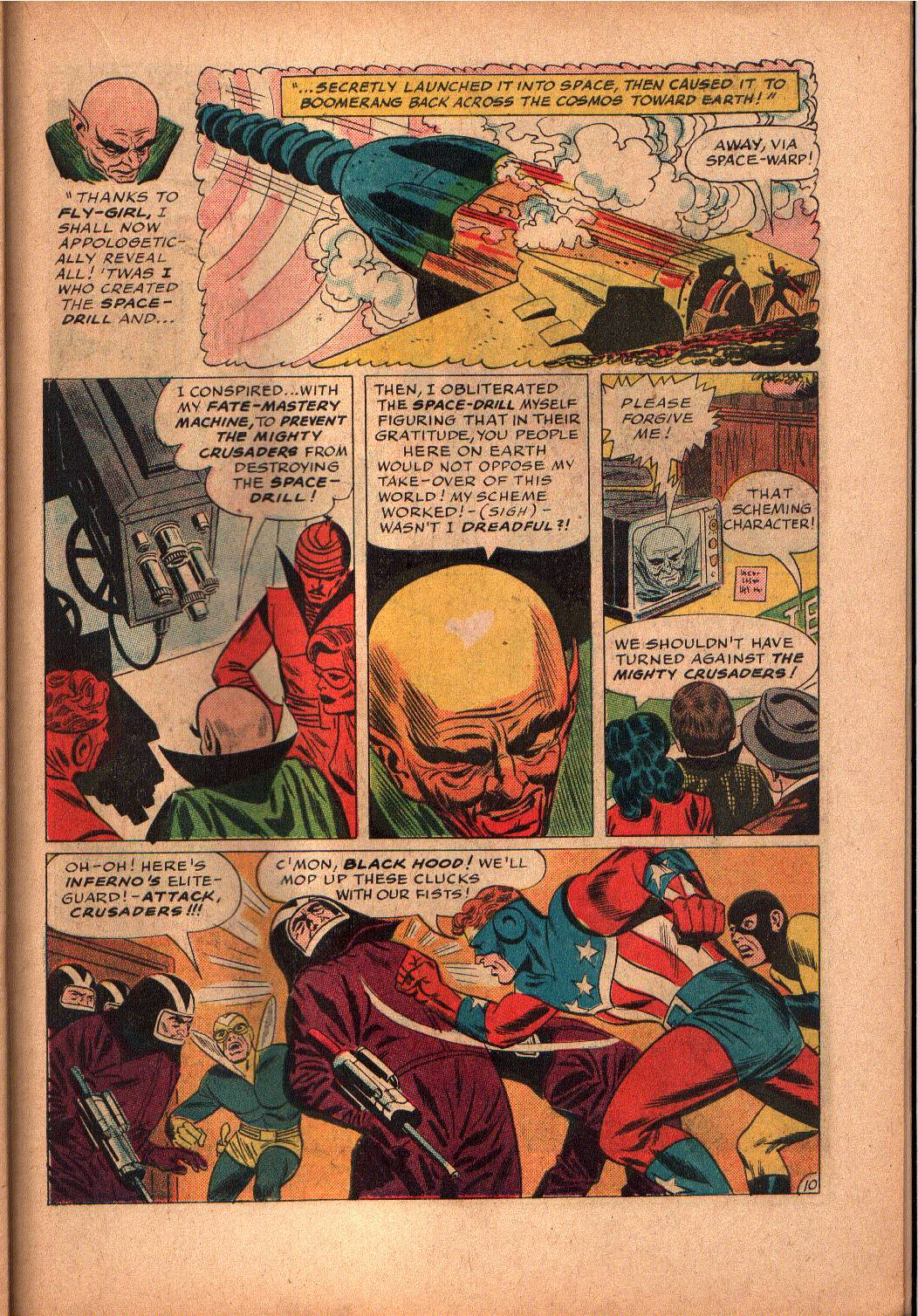 The Mighty Crusaders (1965) Issue #2 #2 - English 19