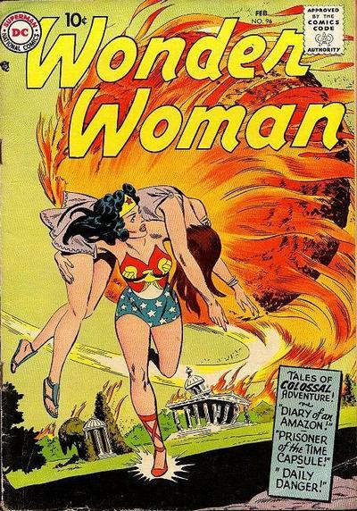 Read online Wonder Woman (1942) comic -  Issue #96 - 2