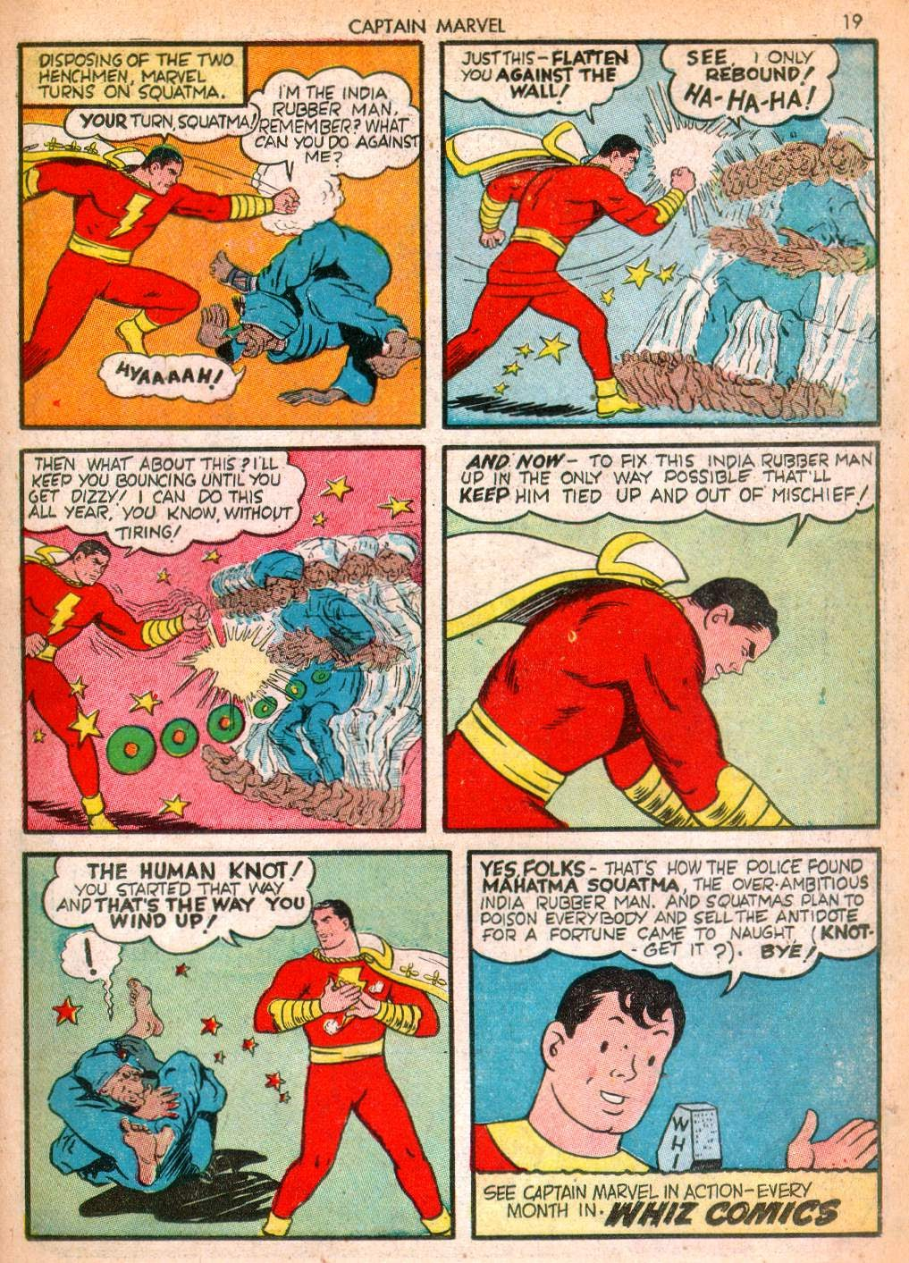 Captain Marvel Adventures issue 10 - Page 19
