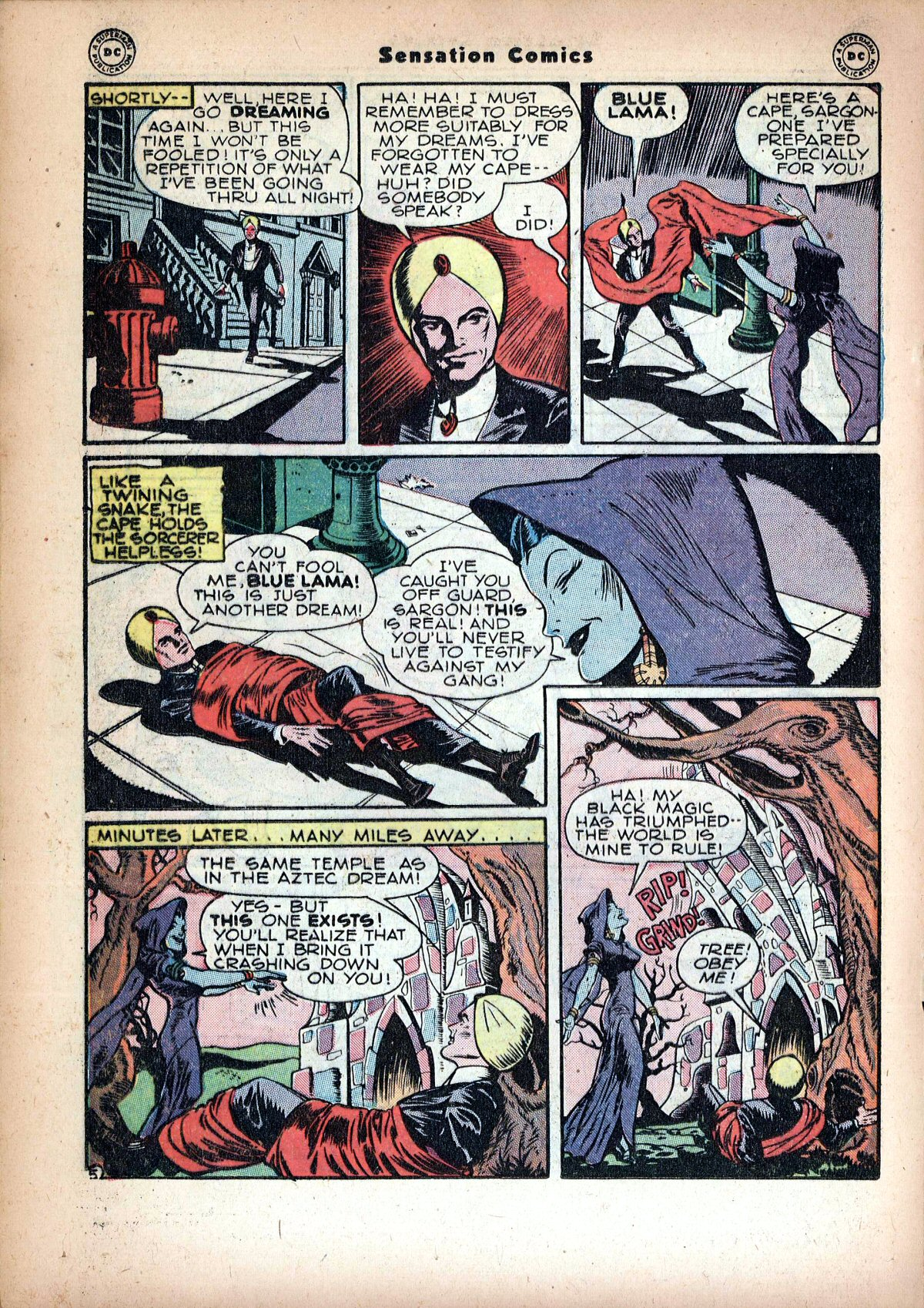 Read online Sensation (Mystery) Comics comic -  Issue #72 - 28